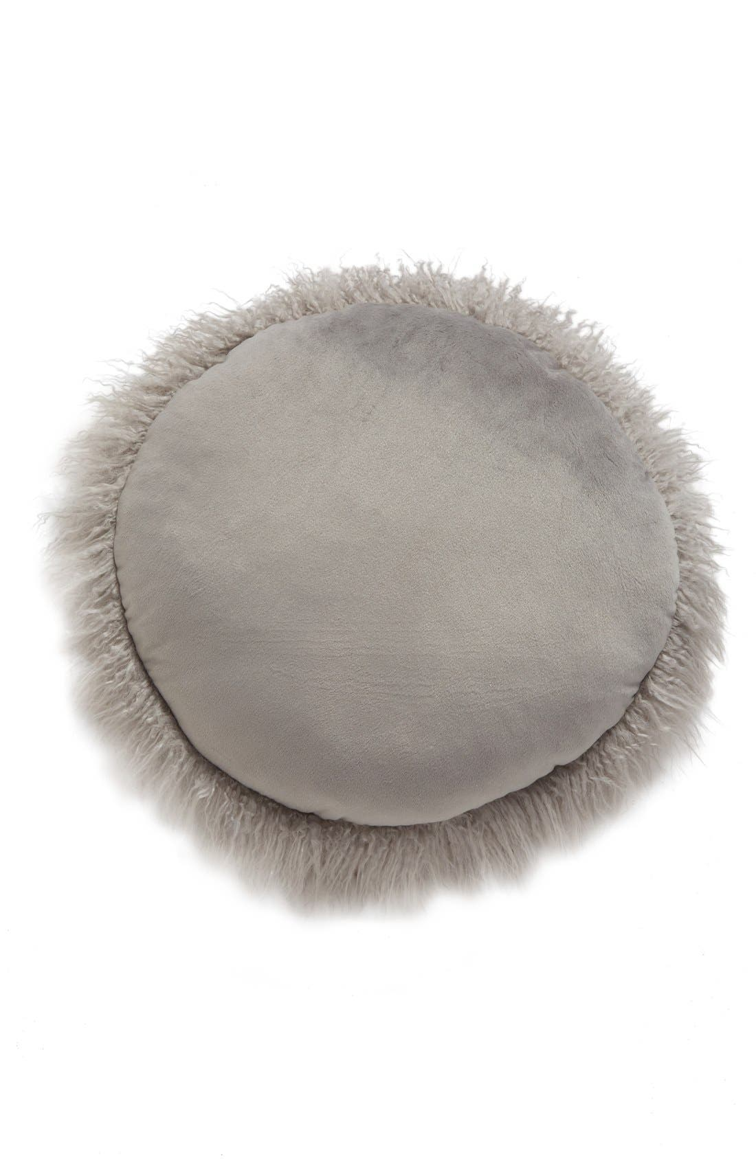 Faux Fur Accent Pillow,                             Alternate thumbnail 2, color,                             020