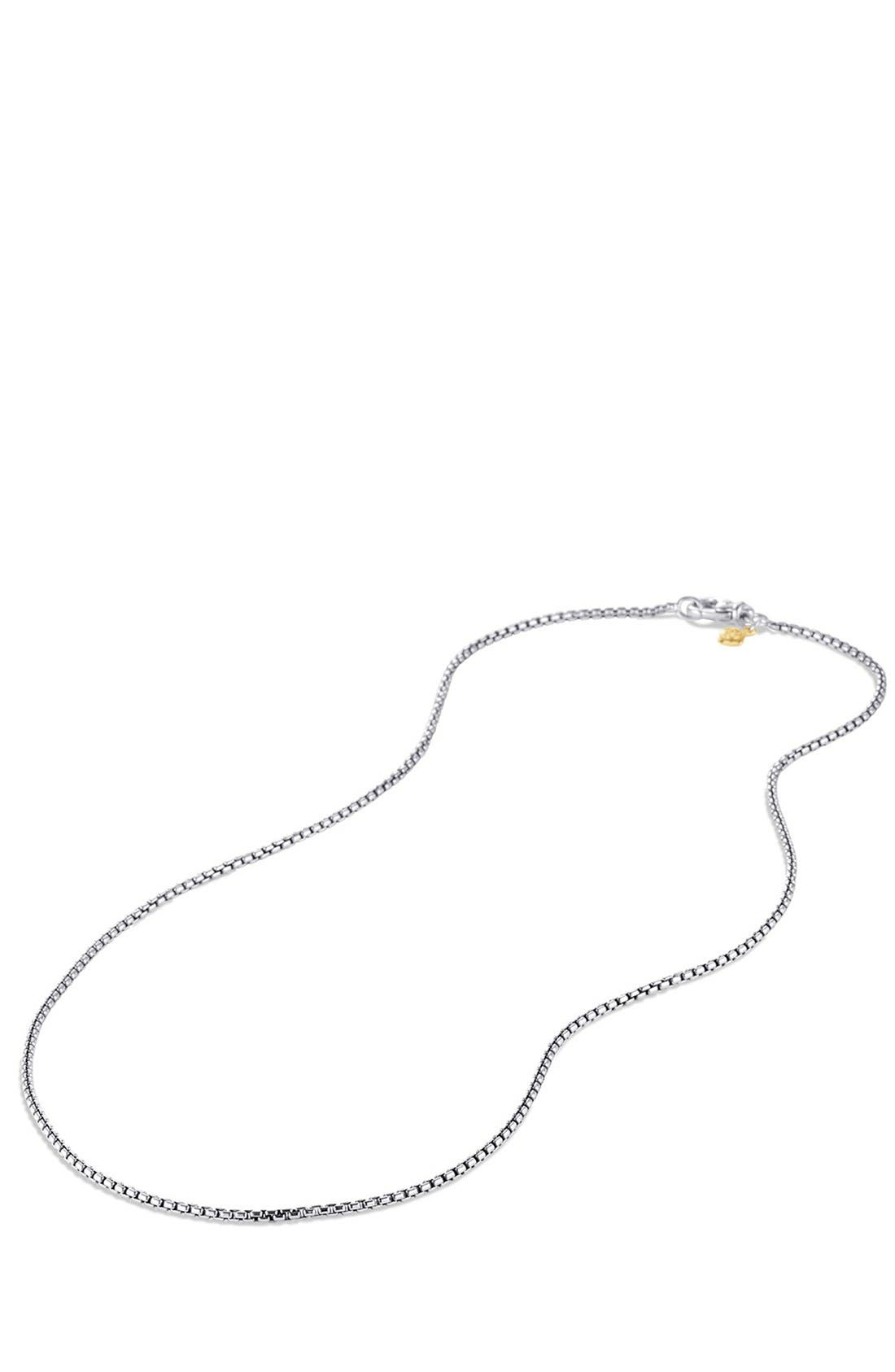 'Chain' Baby Box Chain Necklace,                             Alternate thumbnail 2, color,                             TWO TONE