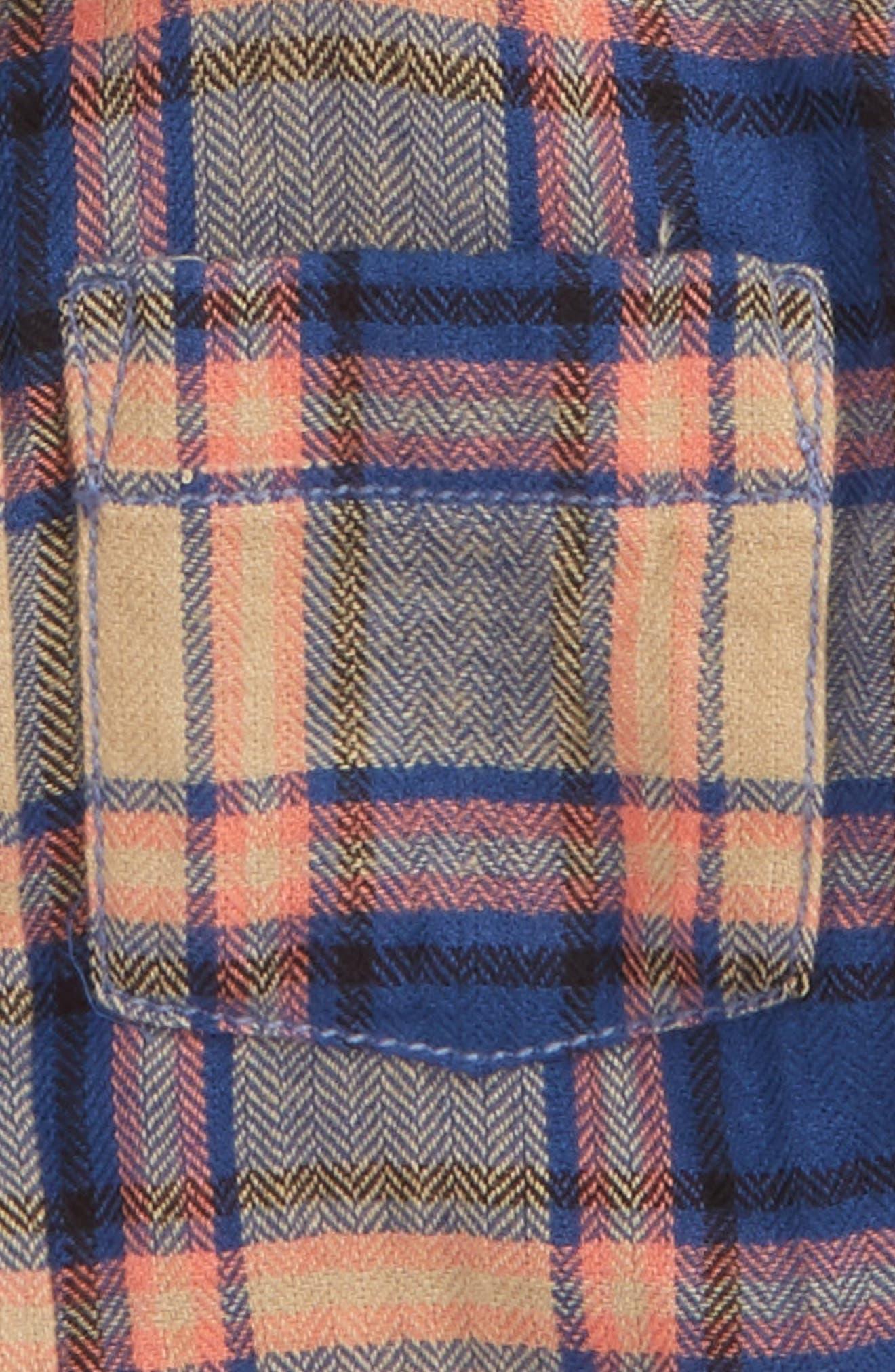 Henry Plaid Woven Shirt,                             Alternate thumbnail 3, color,