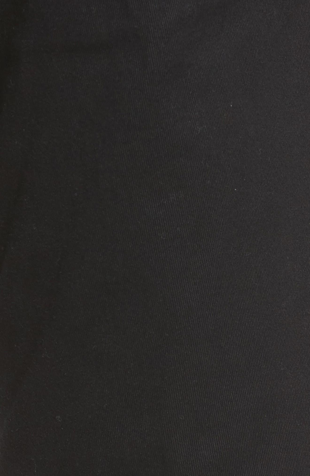 VINCE,                             Soho Slim Fit Five-Pocket Pants,                             Alternate thumbnail 5, color,                             001