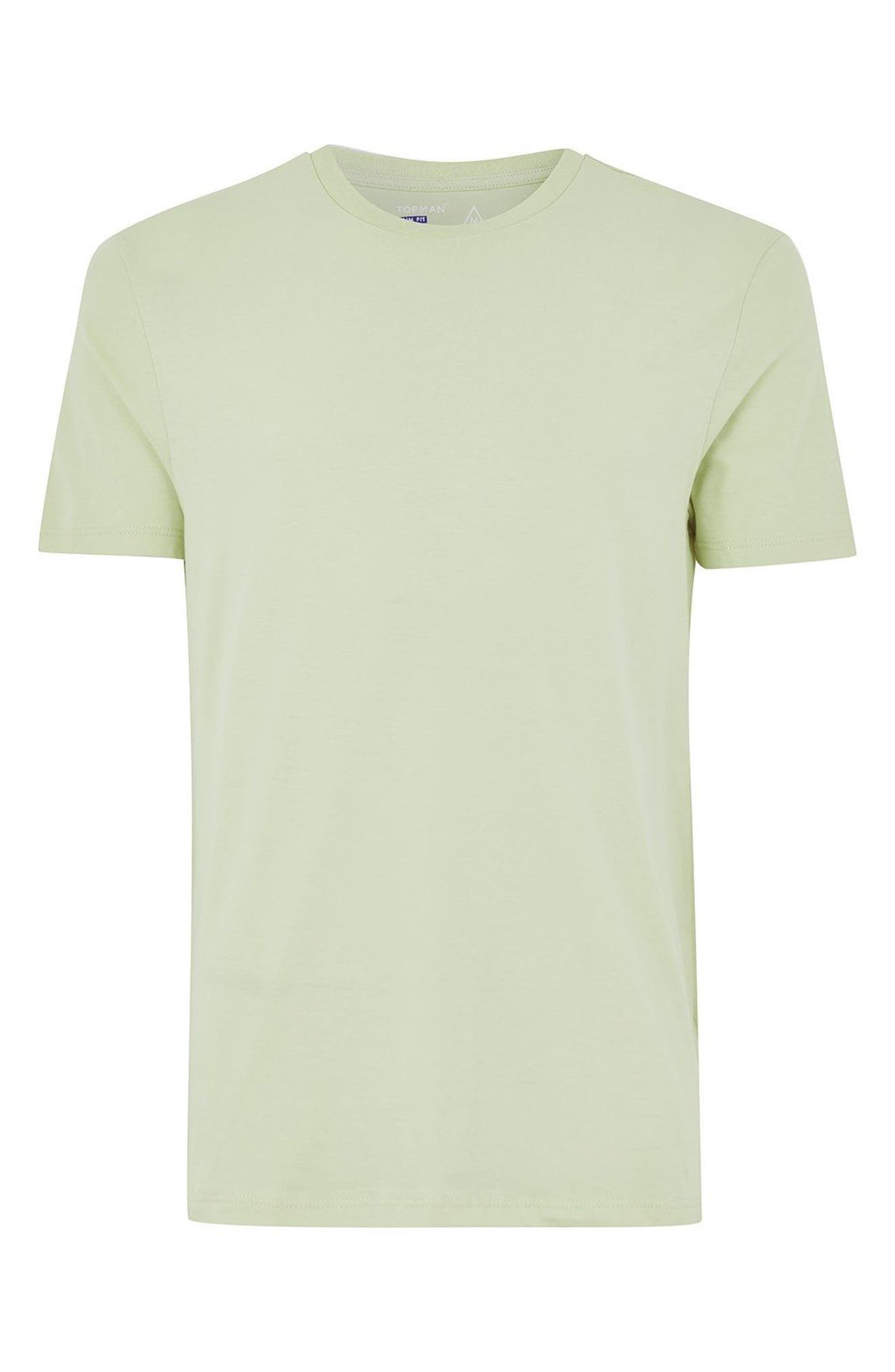 Slim Fit Crewneck T-Shirt,                             Alternate thumbnail 294, color,