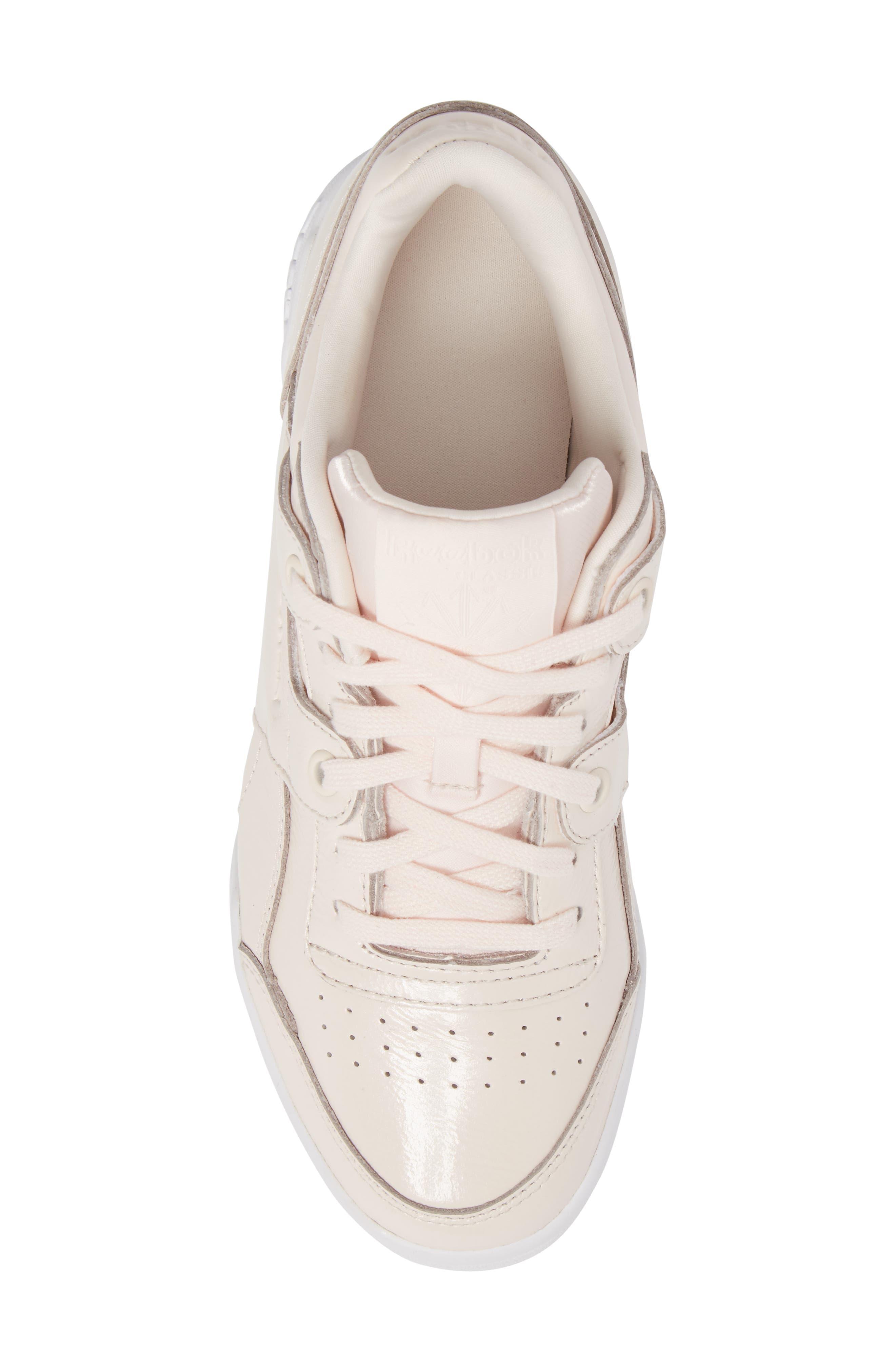 Workout Lo Plus Iridescent Sneaker,                             Alternate thumbnail 5, color,                             650