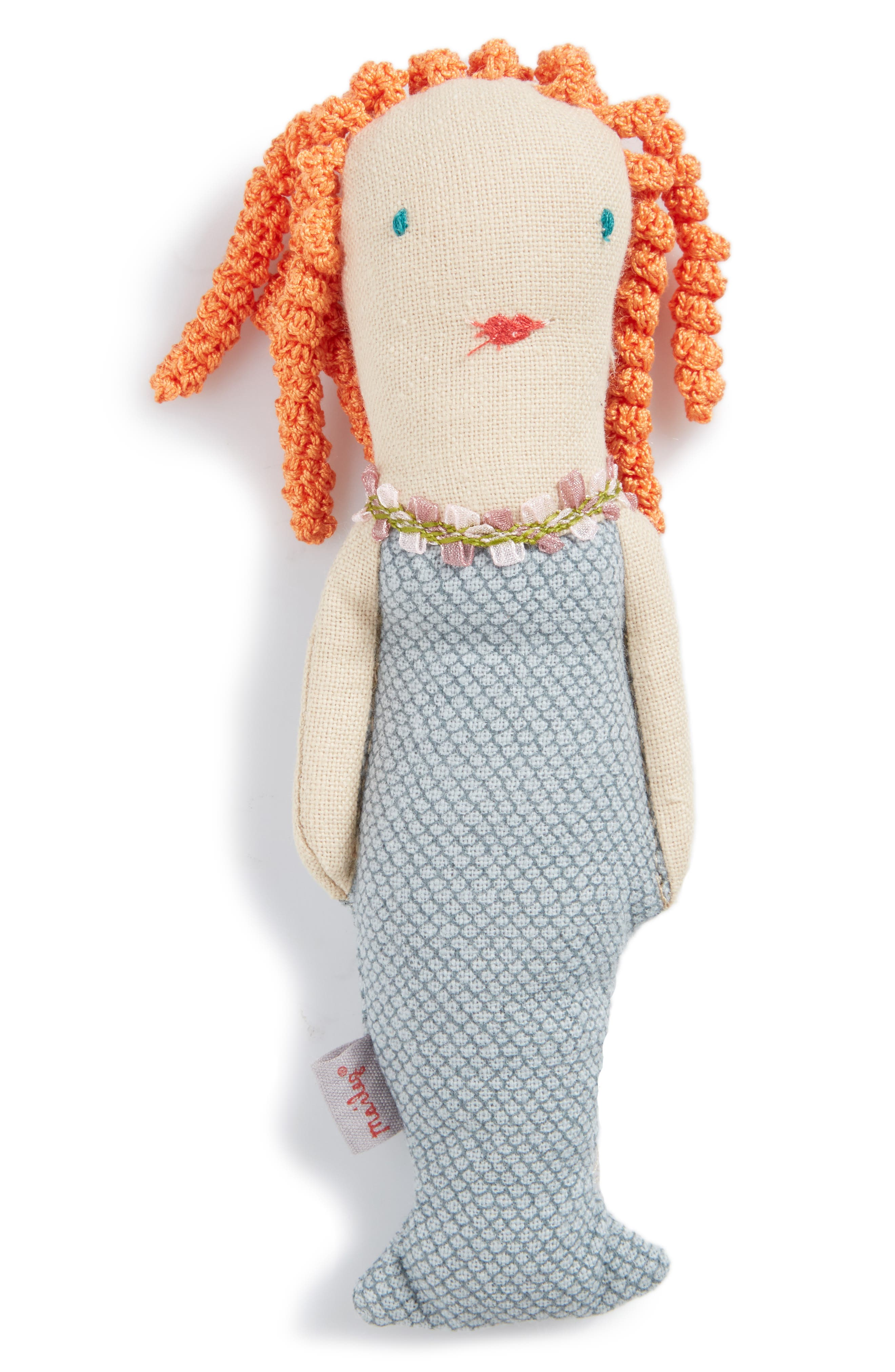 Mermaid Rattle Toy, Main, color, 400