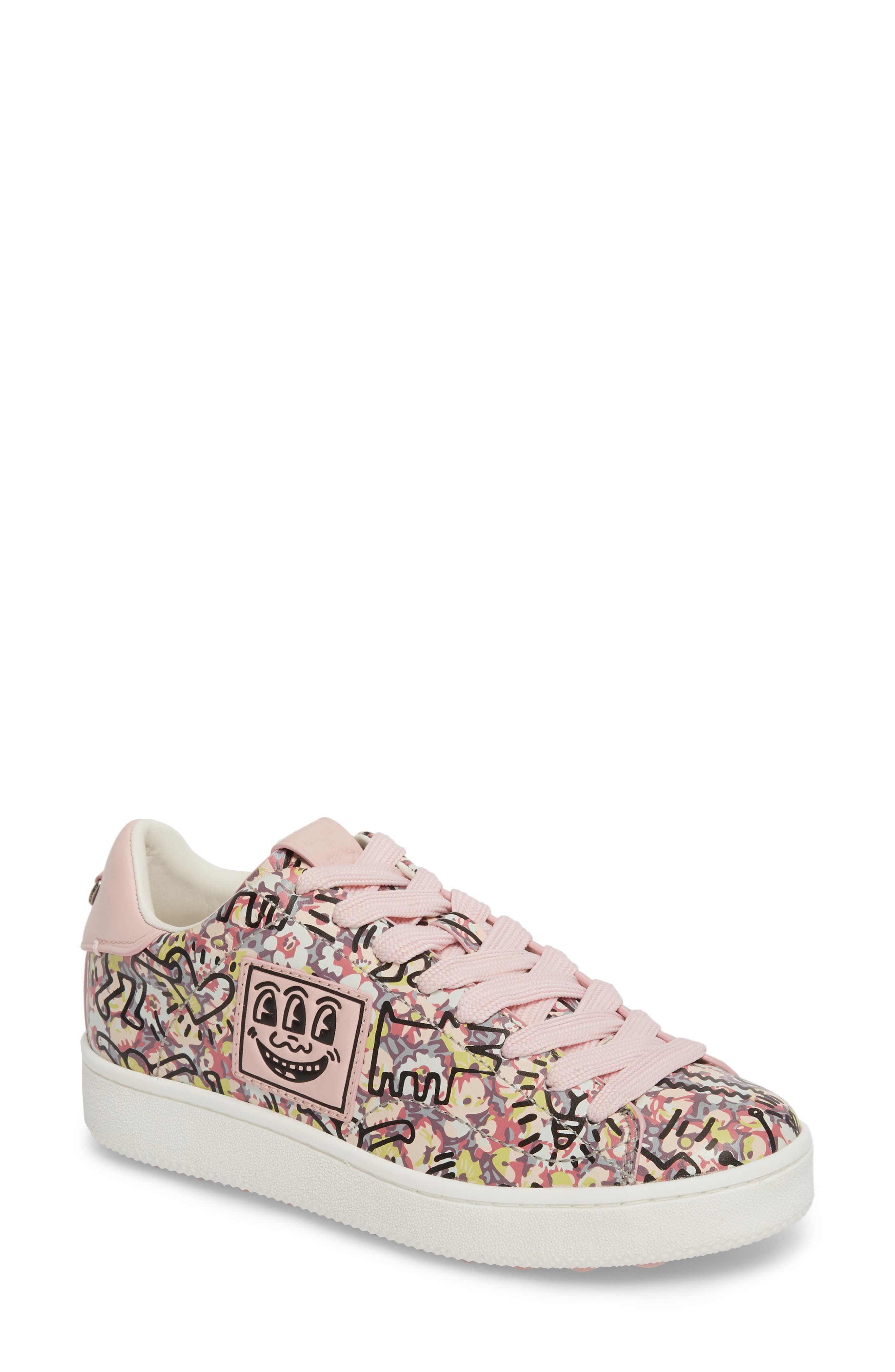 x Keith Haring Low Top Sneaker,                             Main thumbnail 1, color,                             674