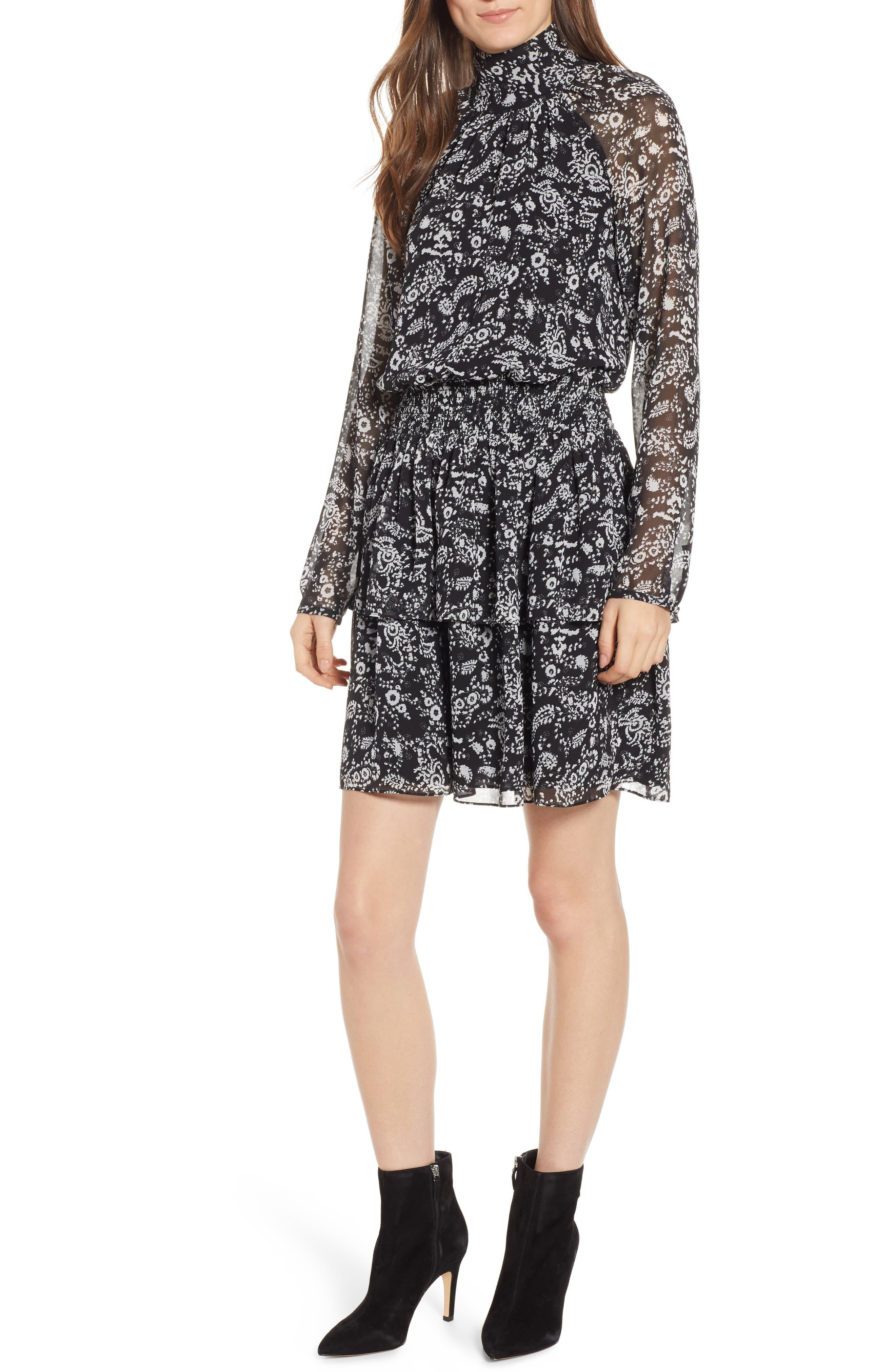 Rebecca Minkoff Zayee Dress, Black