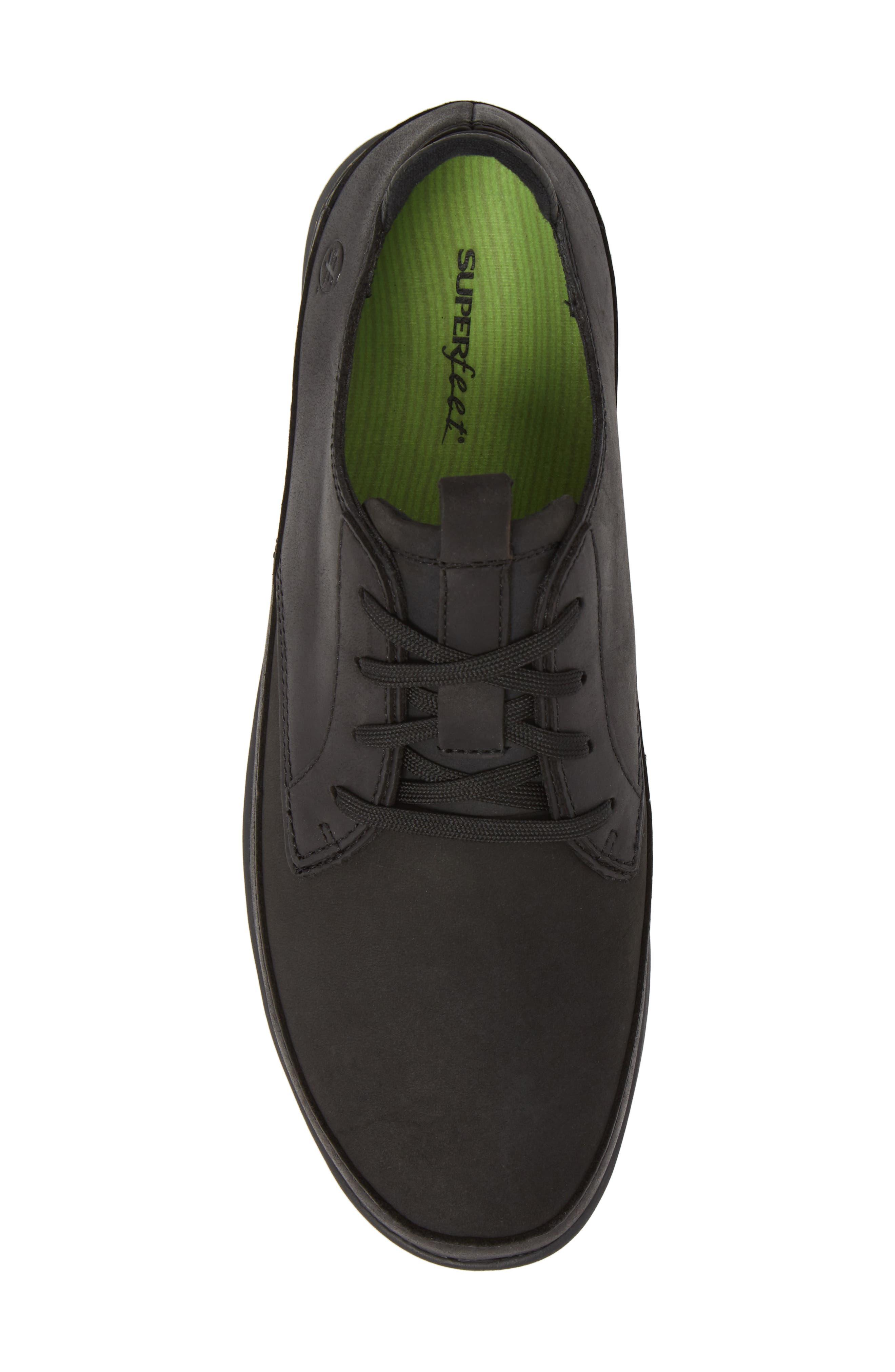 Worldwide Ross Waterproof Sneaker,                             Alternate thumbnail 5, color,                             BLACK