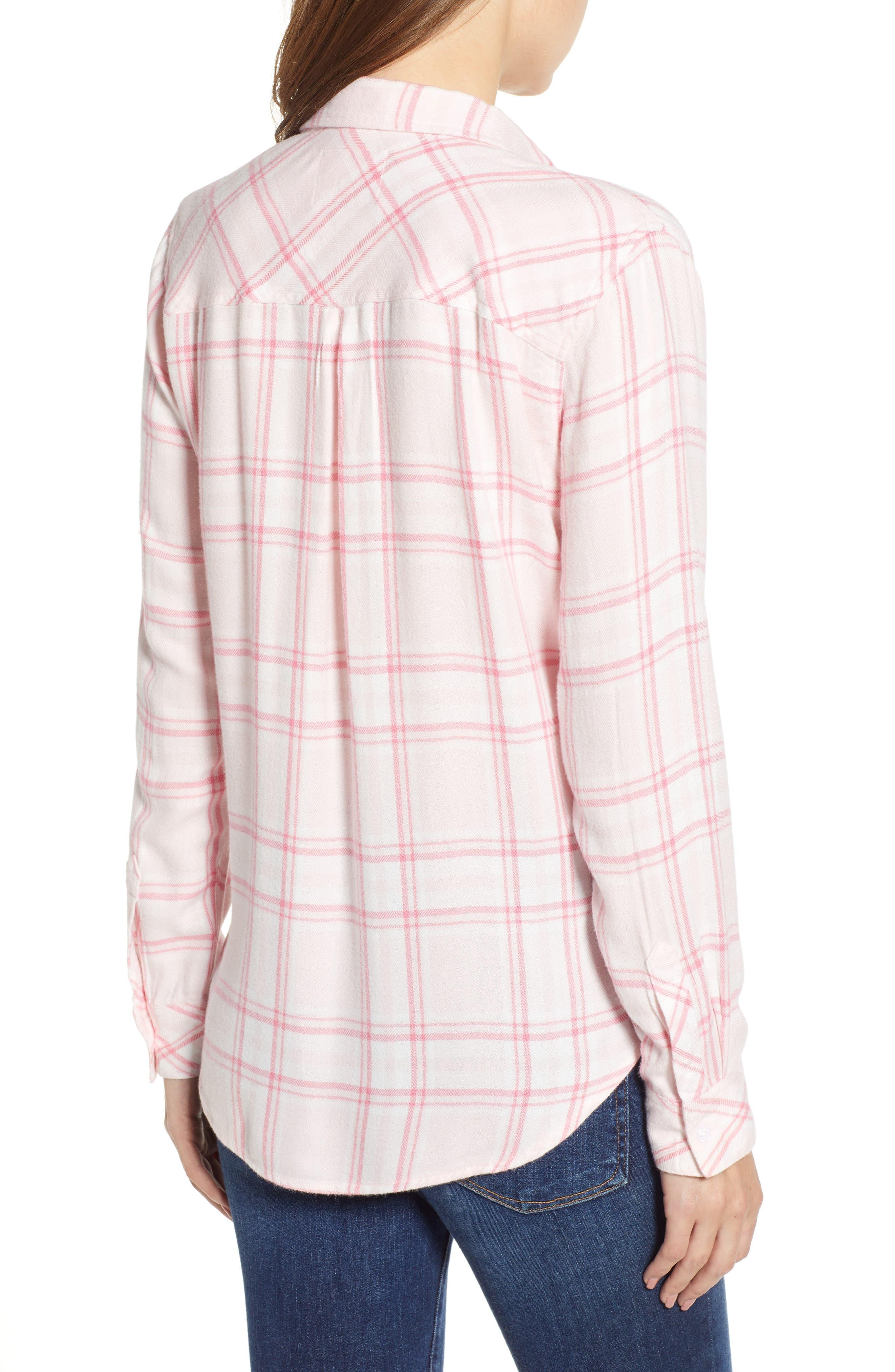 Hunter Plaid Shirt,                             Alternate thumbnail 2, color,                             675