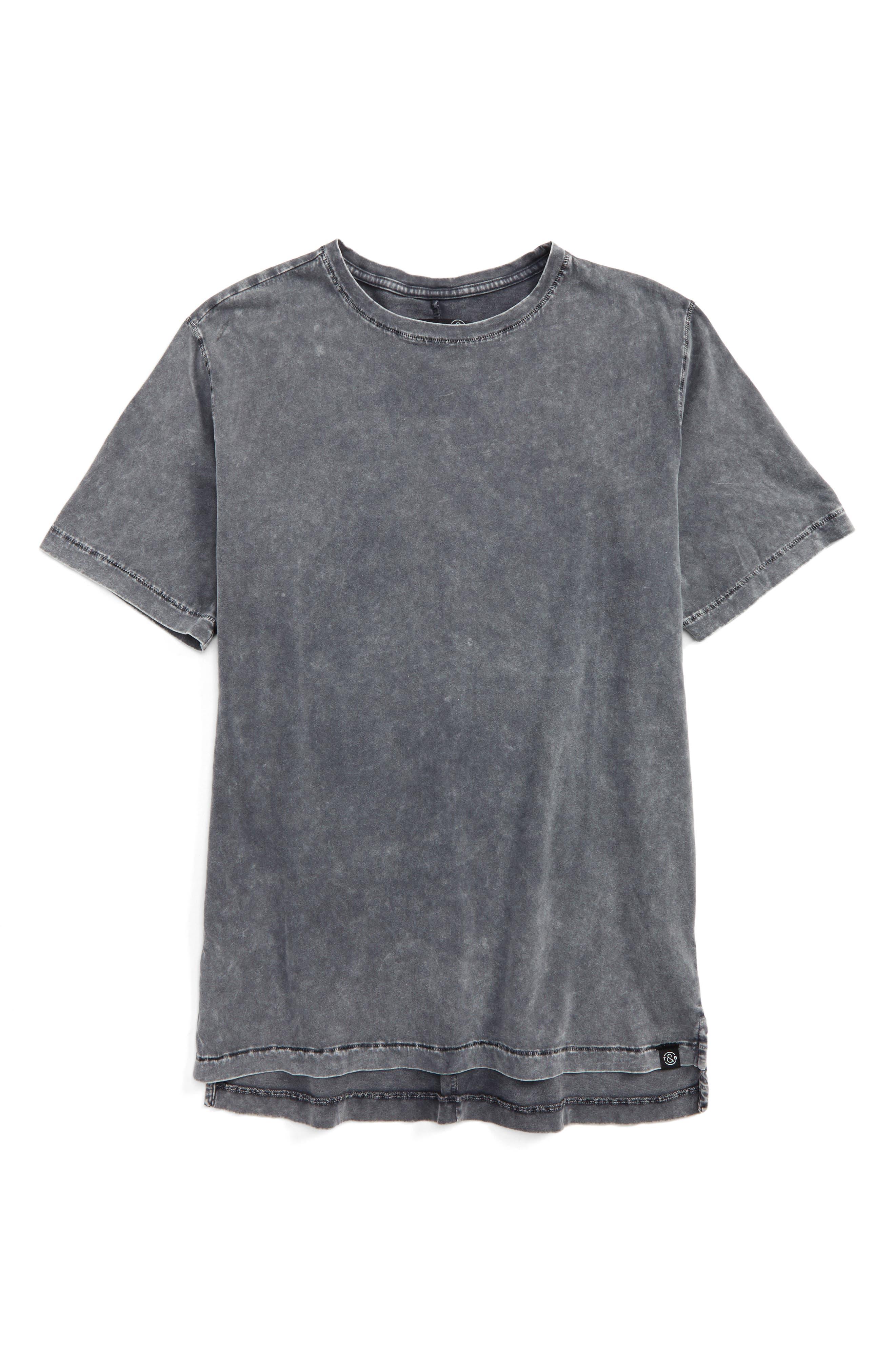 Polo Hem Crewneck T-Shirt,                             Main thumbnail 1, color,                             030