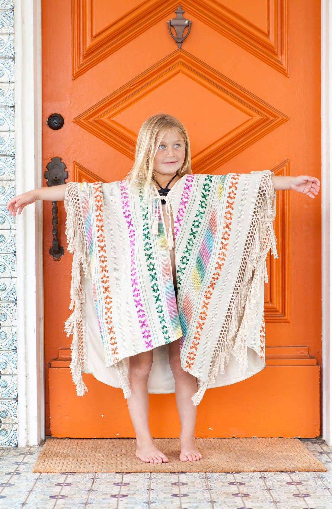 Mohave Cover-Up Poncho,                             Alternate thumbnail 4, color,