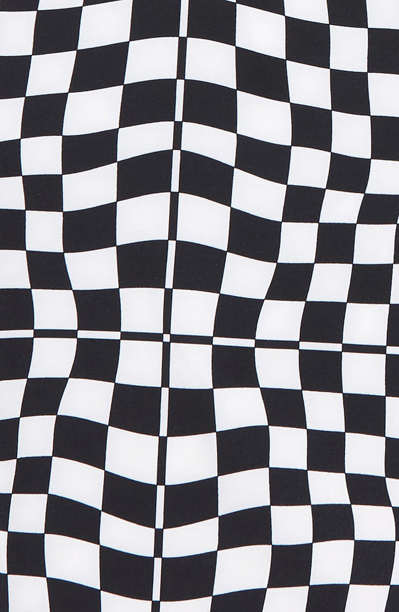 VANS,                             Mixed Check Board Shorts,                             Alternate thumbnail 2, color,                             WHITE