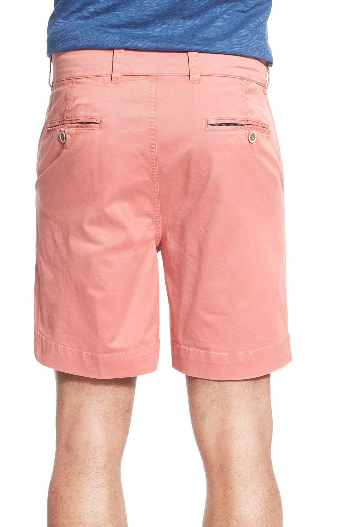 'Sunny' Stretch Twill Chino Shorts,                             Alternate thumbnail 15, color,