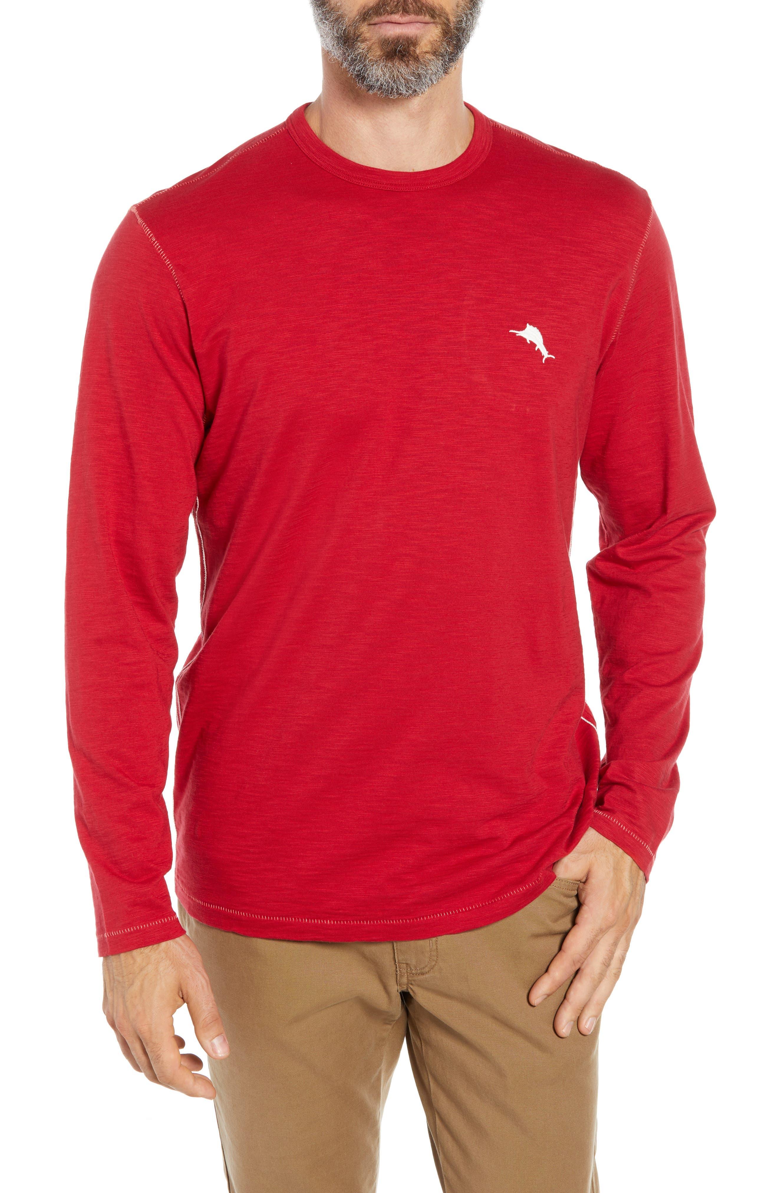 Mele Kalikimaka T-Shirt,                             Main thumbnail 1, color,                             SCOOTER RED