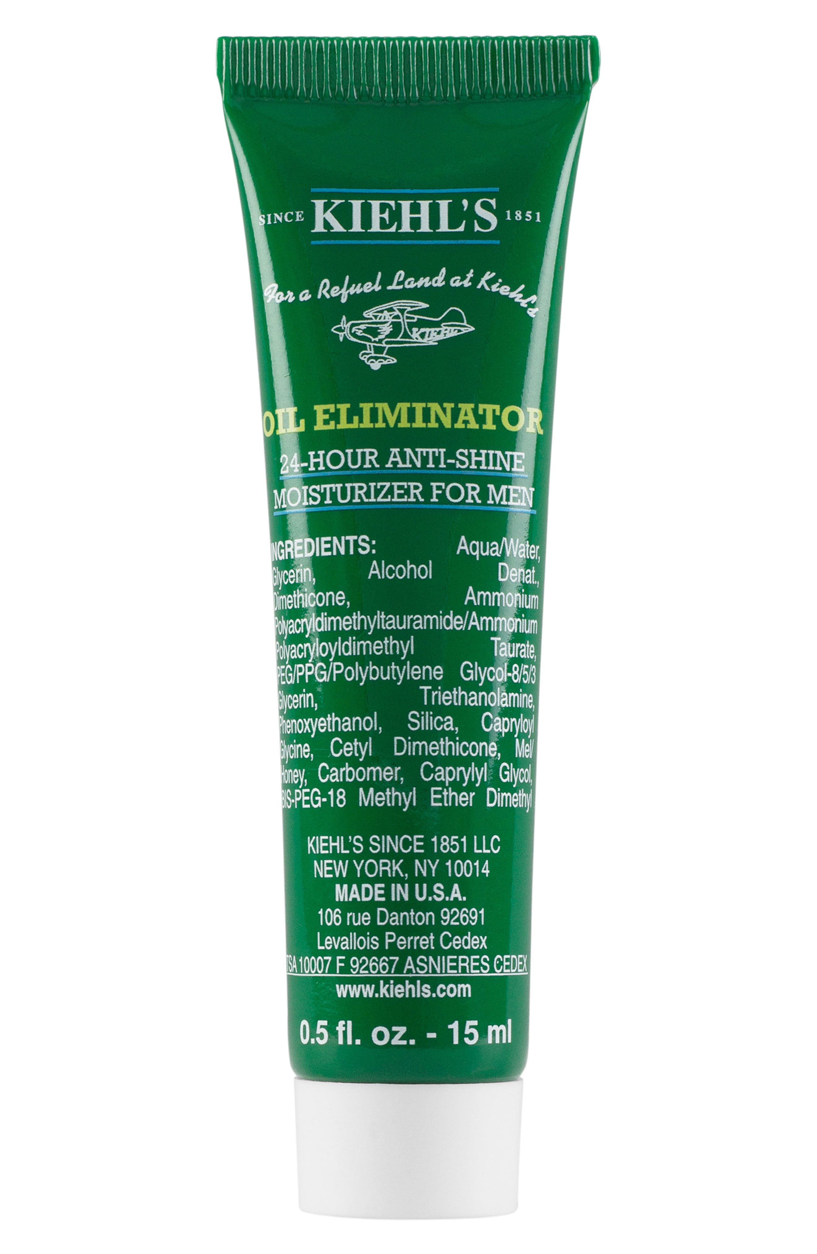 'Oil Eliminator' 24-Hour Anti-Shine Moisturizer for Men,                             Alternate thumbnail 4, color,                             NO COLOR