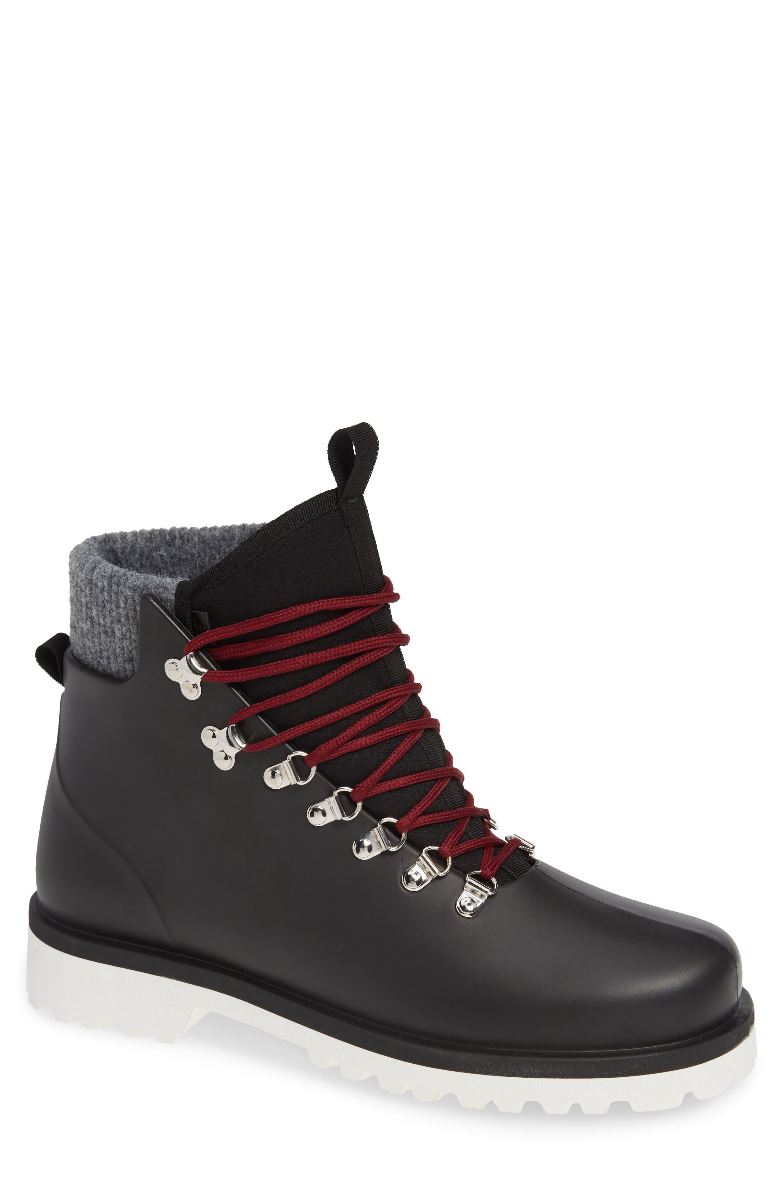 Brother x Frère Alpine Rain Boot,                         Main,                         color, BLACK