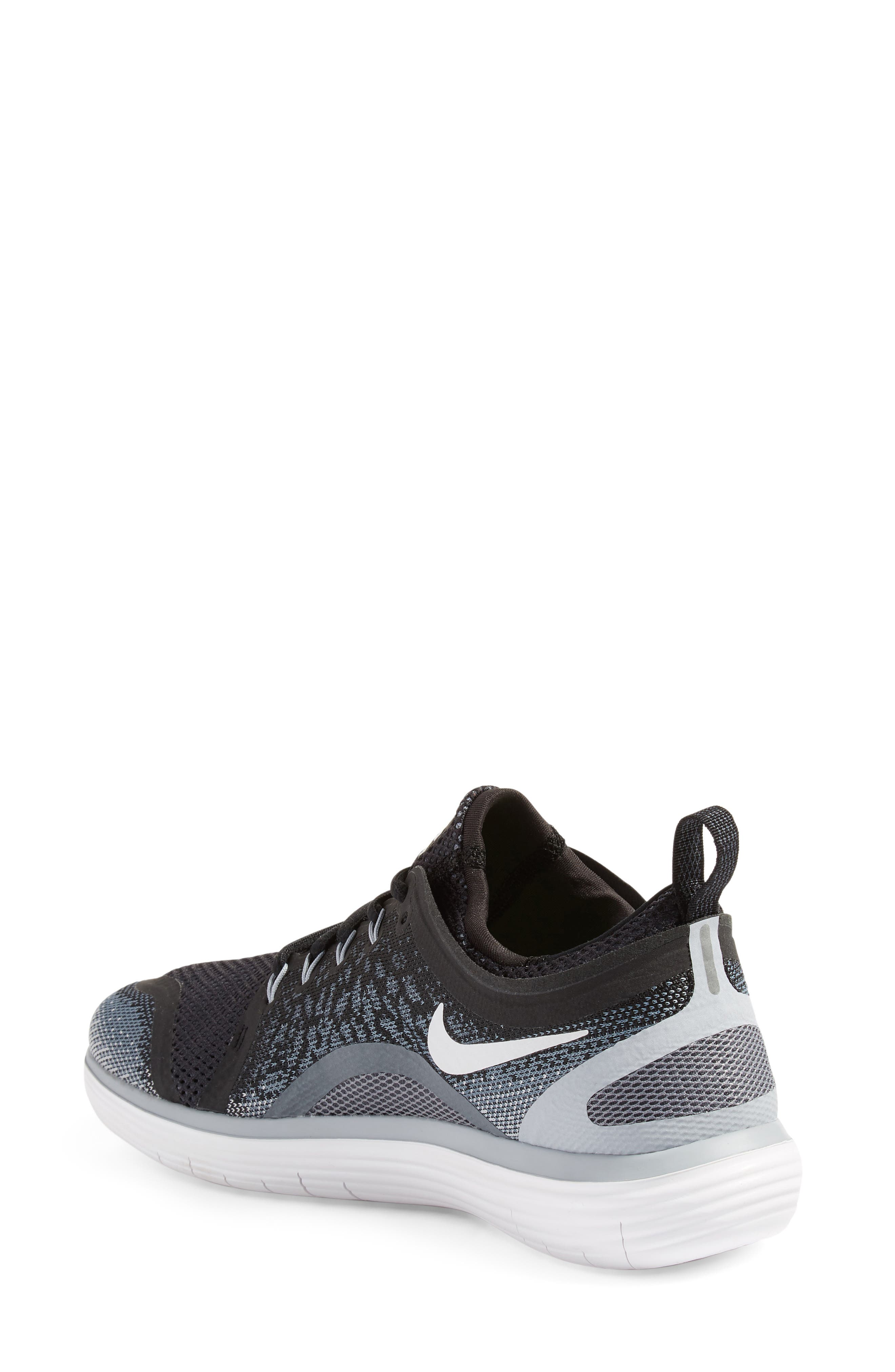 Free Run Distance 2 Running Shoe,                             Alternate thumbnail 2, color,                             001