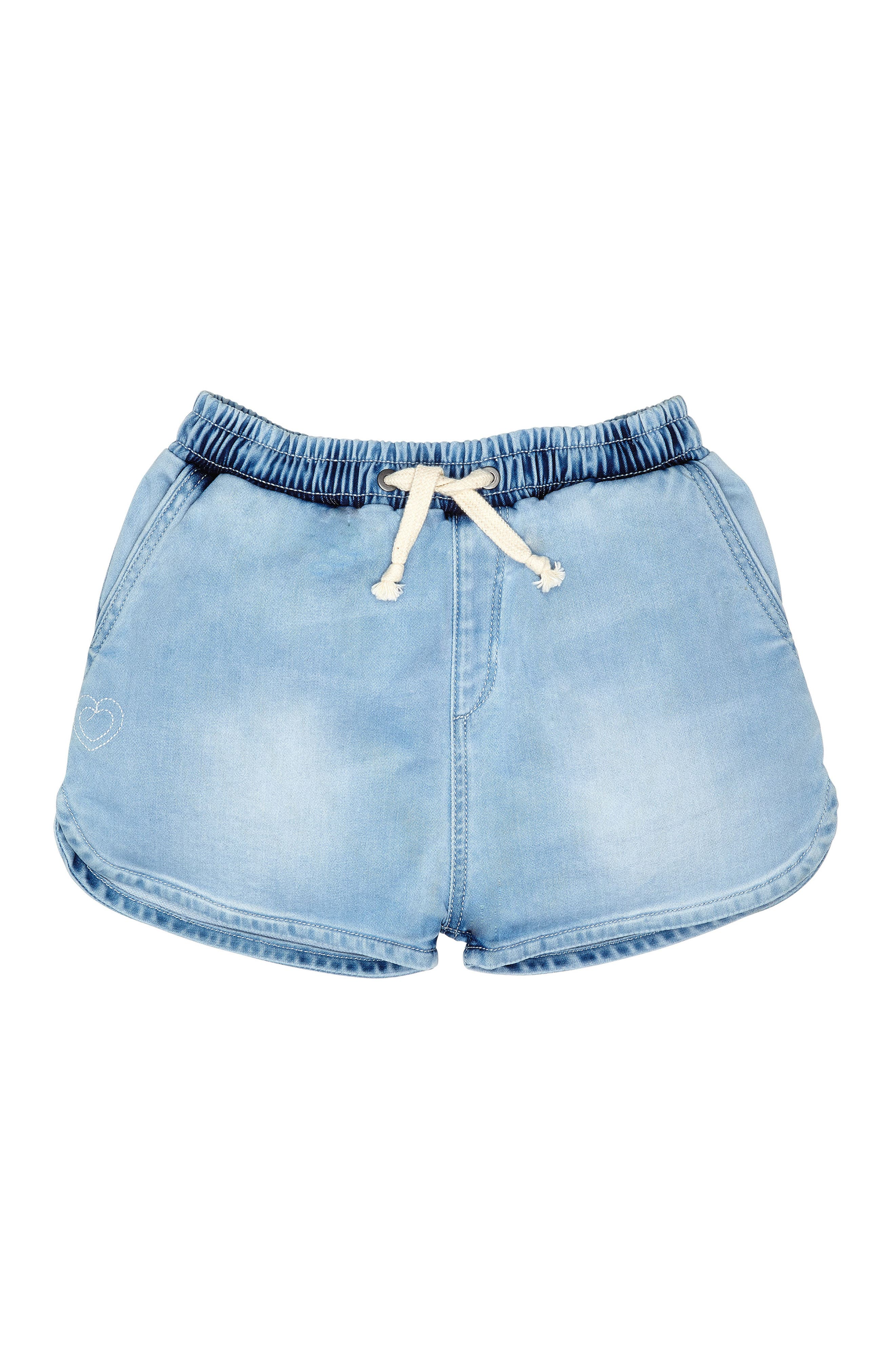 Denim Sport Shorts,                         Main,                         color, 405