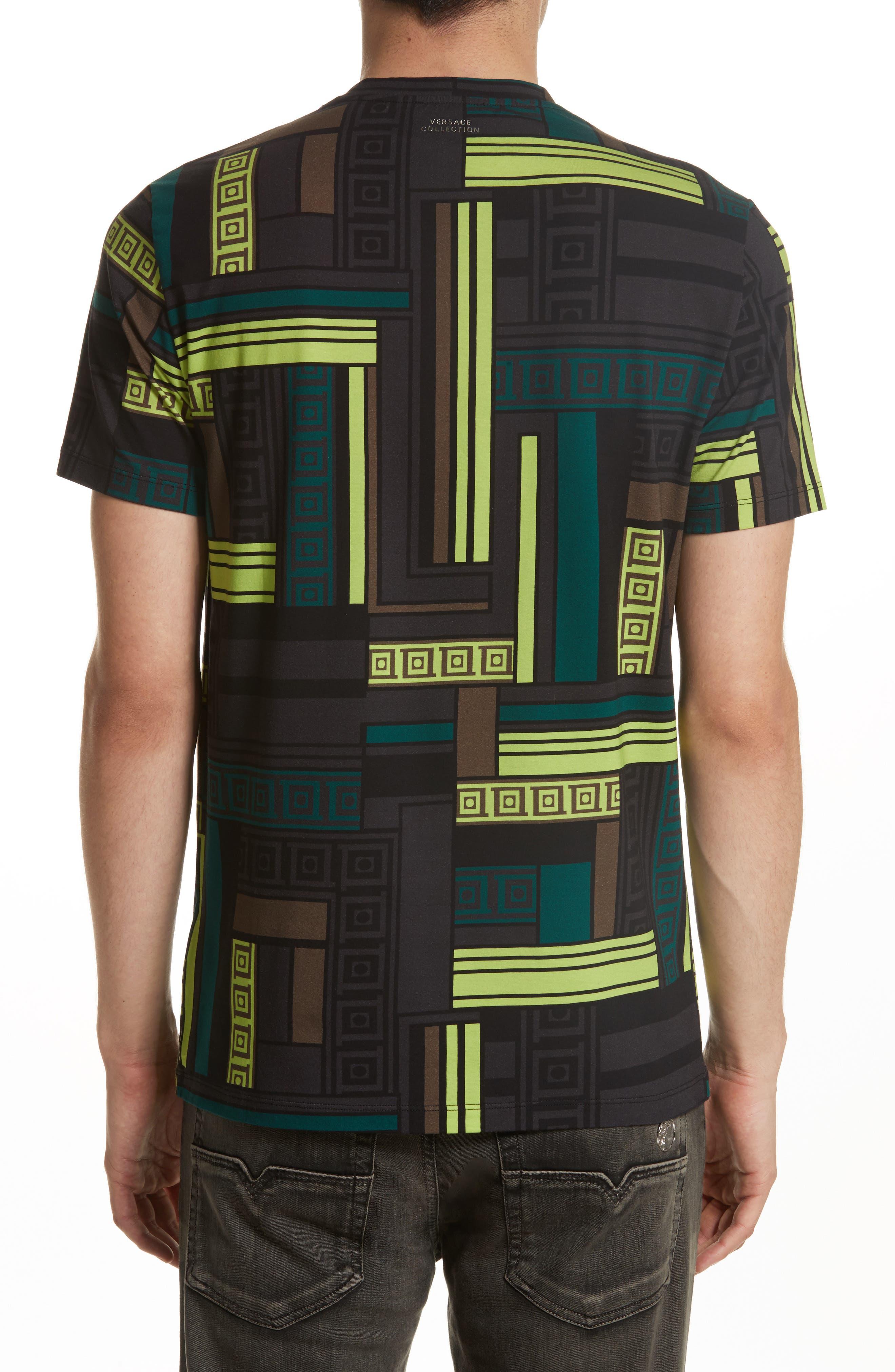 Allover Frame Print T-Shirt,                             Alternate thumbnail 2, color,                             333