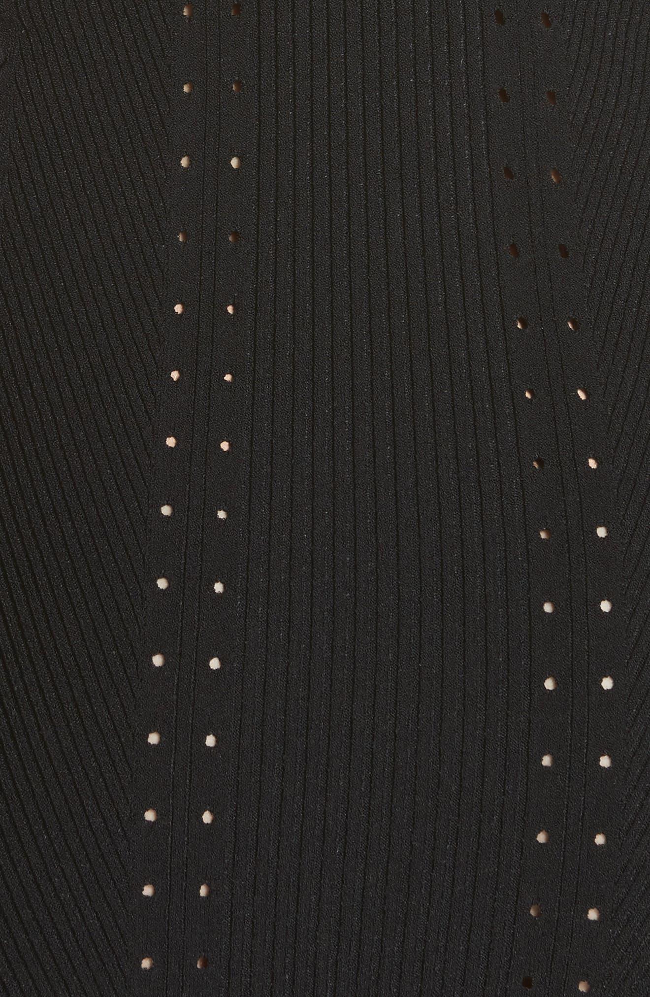 Brandy Whipstitch Dress,                             Alternate thumbnail 5, color,                             001