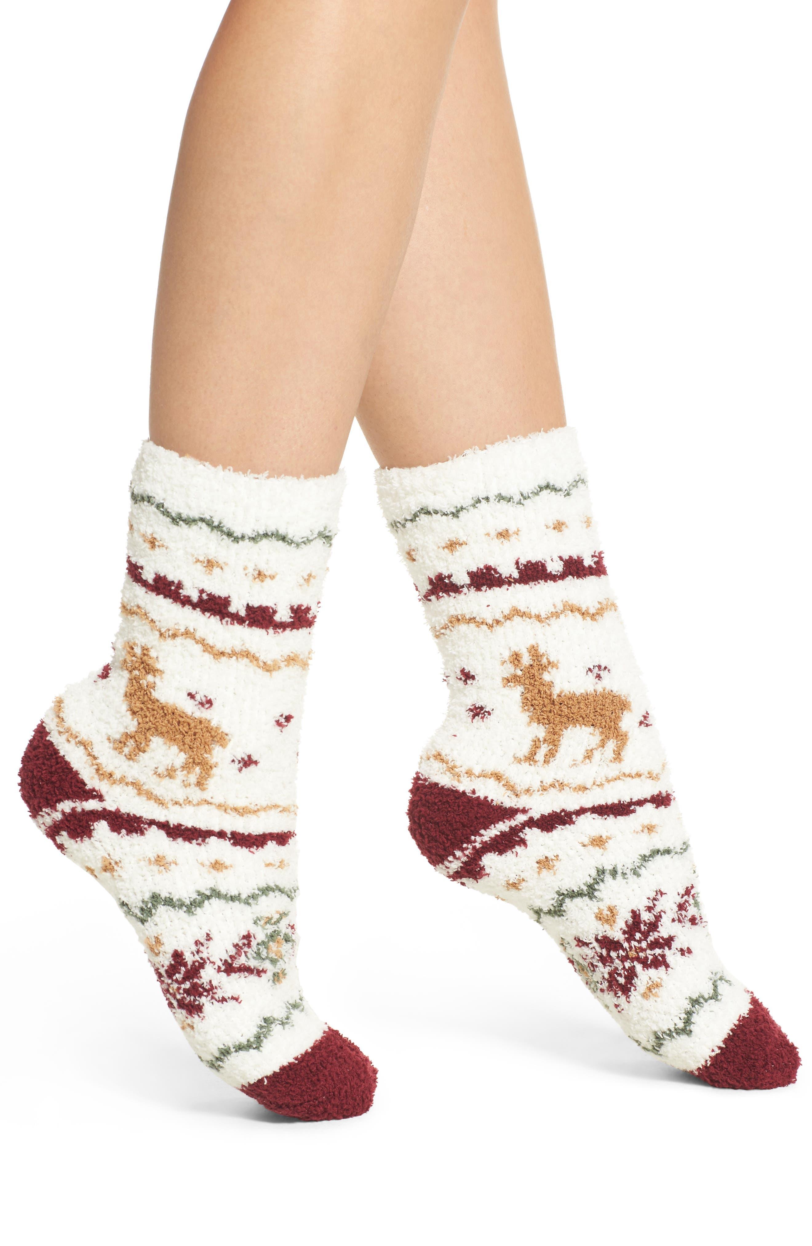 Plush Socks,                             Main thumbnail 2, color,
