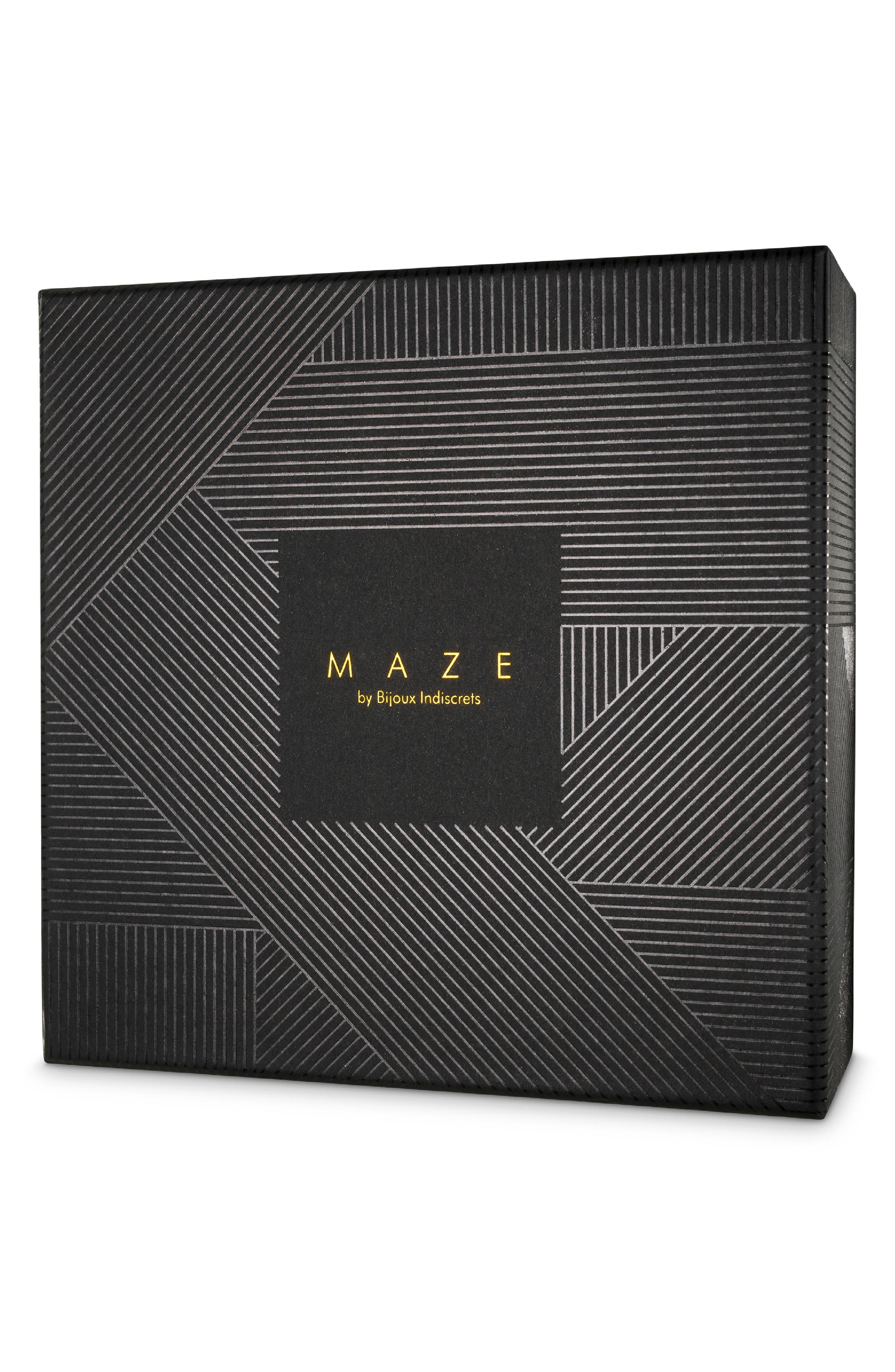 Maze Belt,                             Alternate thumbnail 2, color,                             BLACK