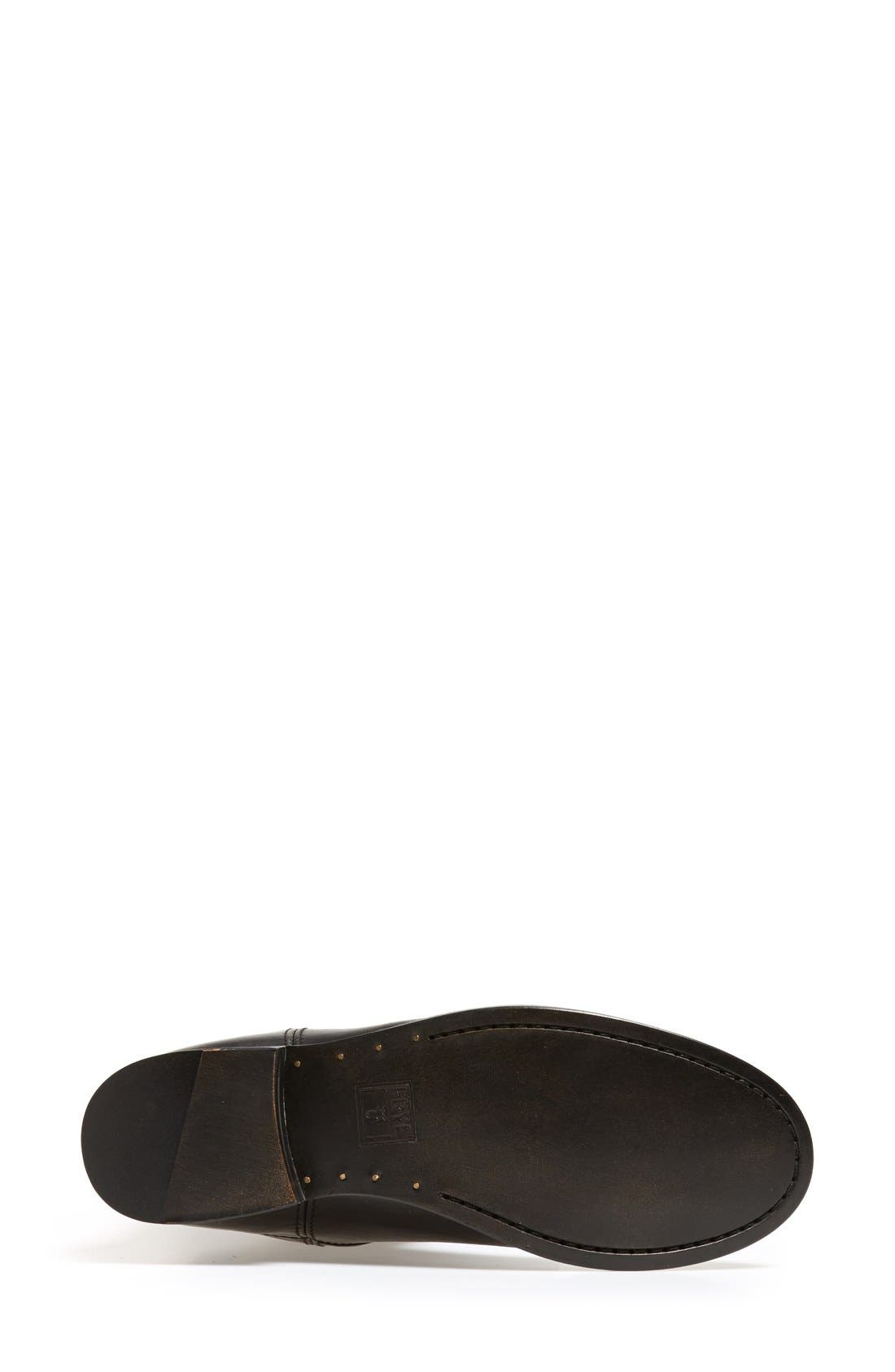 'Melissa Button' Leather Riding Boot,                             Alternate thumbnail 71, color,