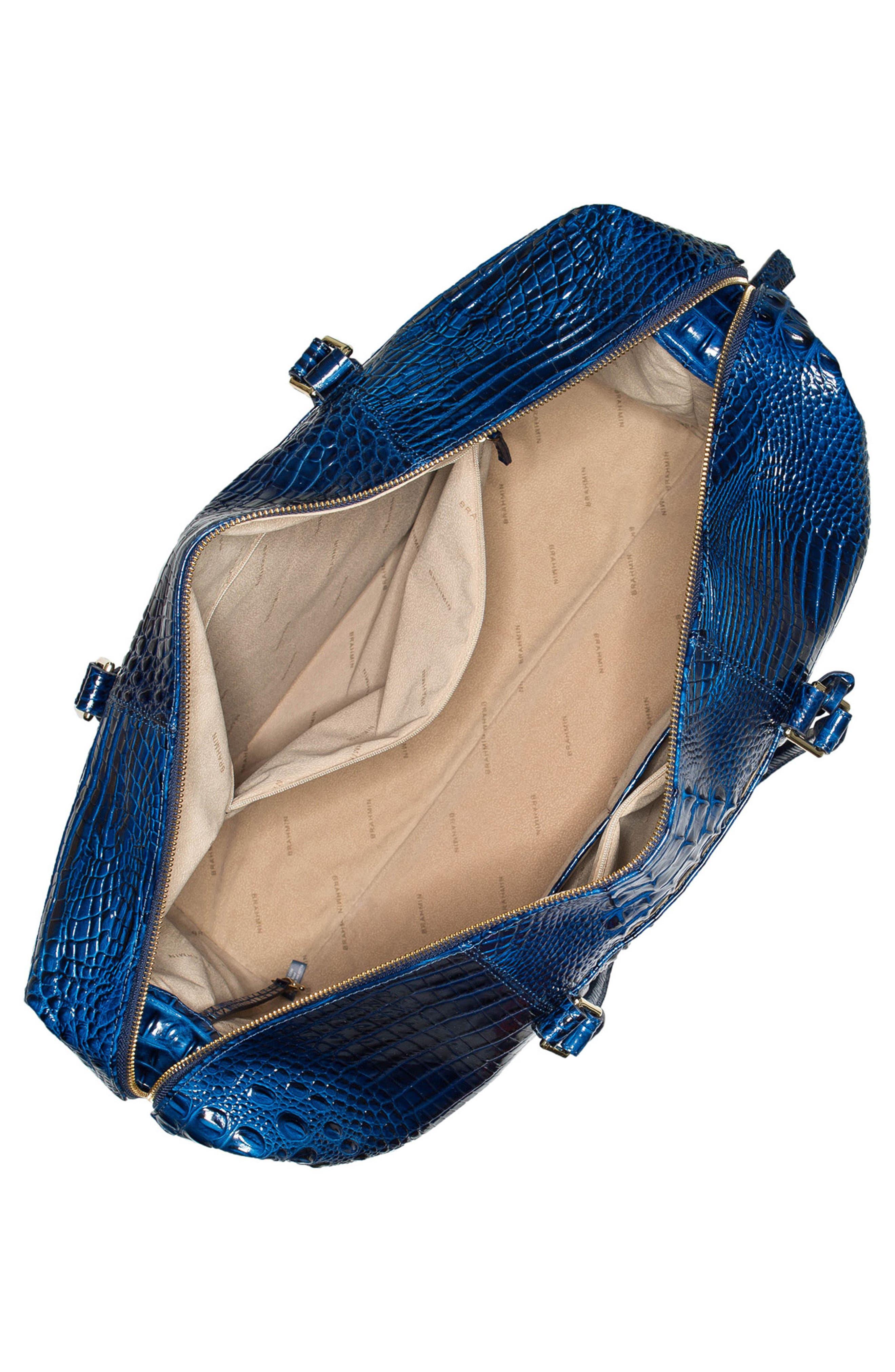 'Duxbury' Leather Travel Bag,                             Alternate thumbnail 6, color,