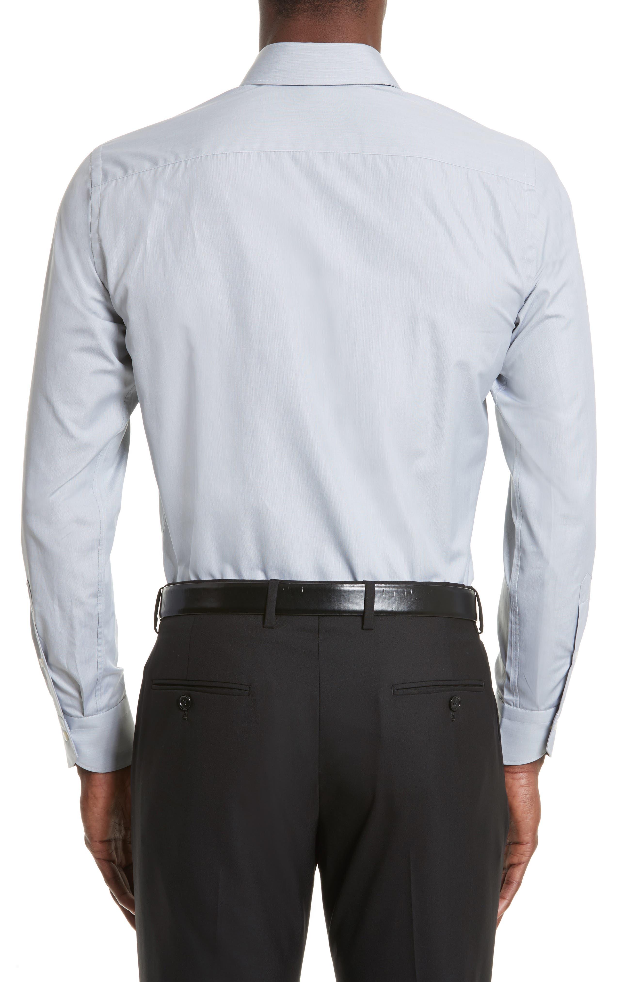 Regular Fit Solid Dress Shirt,                             Alternate thumbnail 2, color,                             050