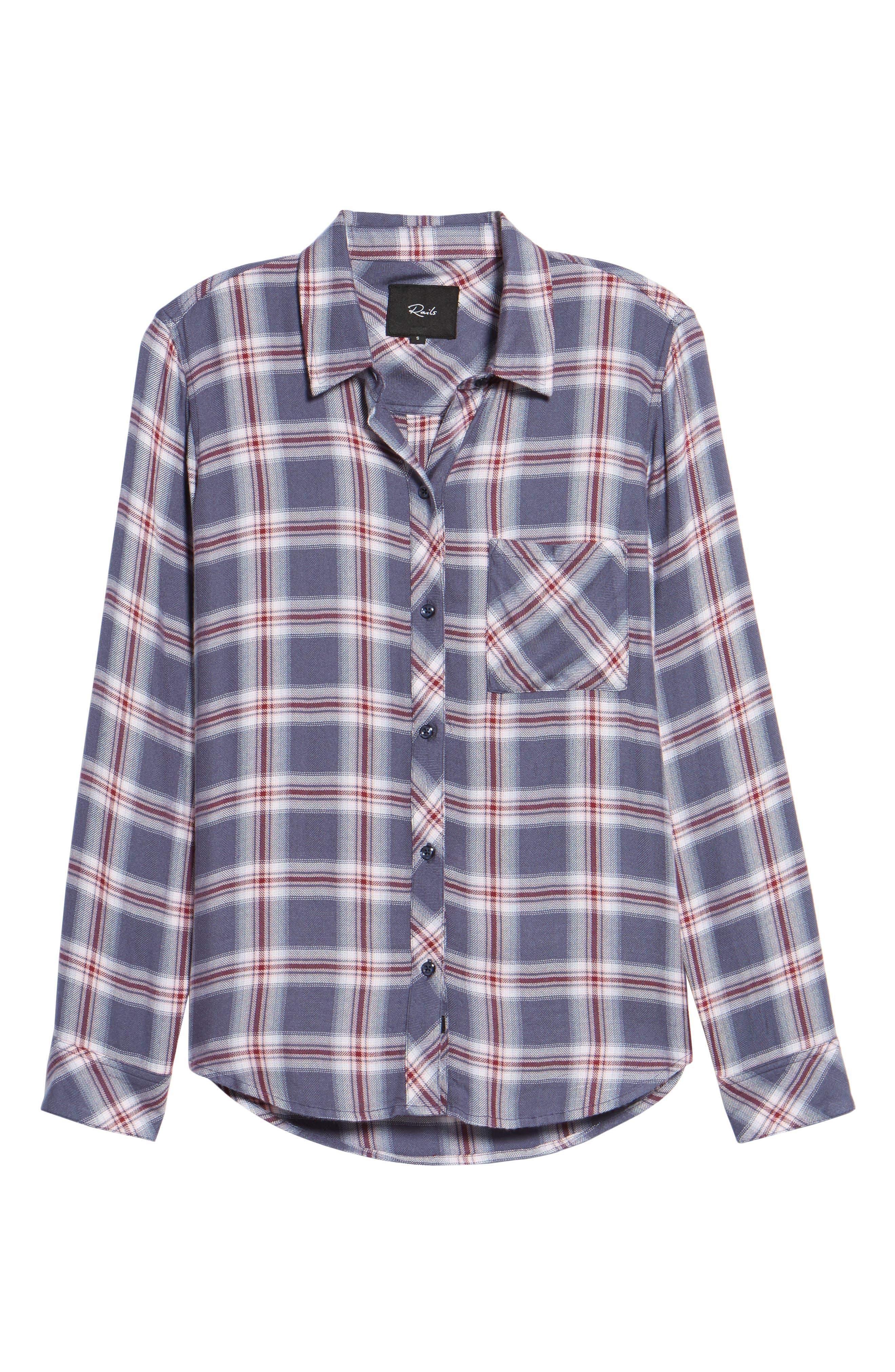 Hunter Plaid Shirt,                             Alternate thumbnail 720, color,