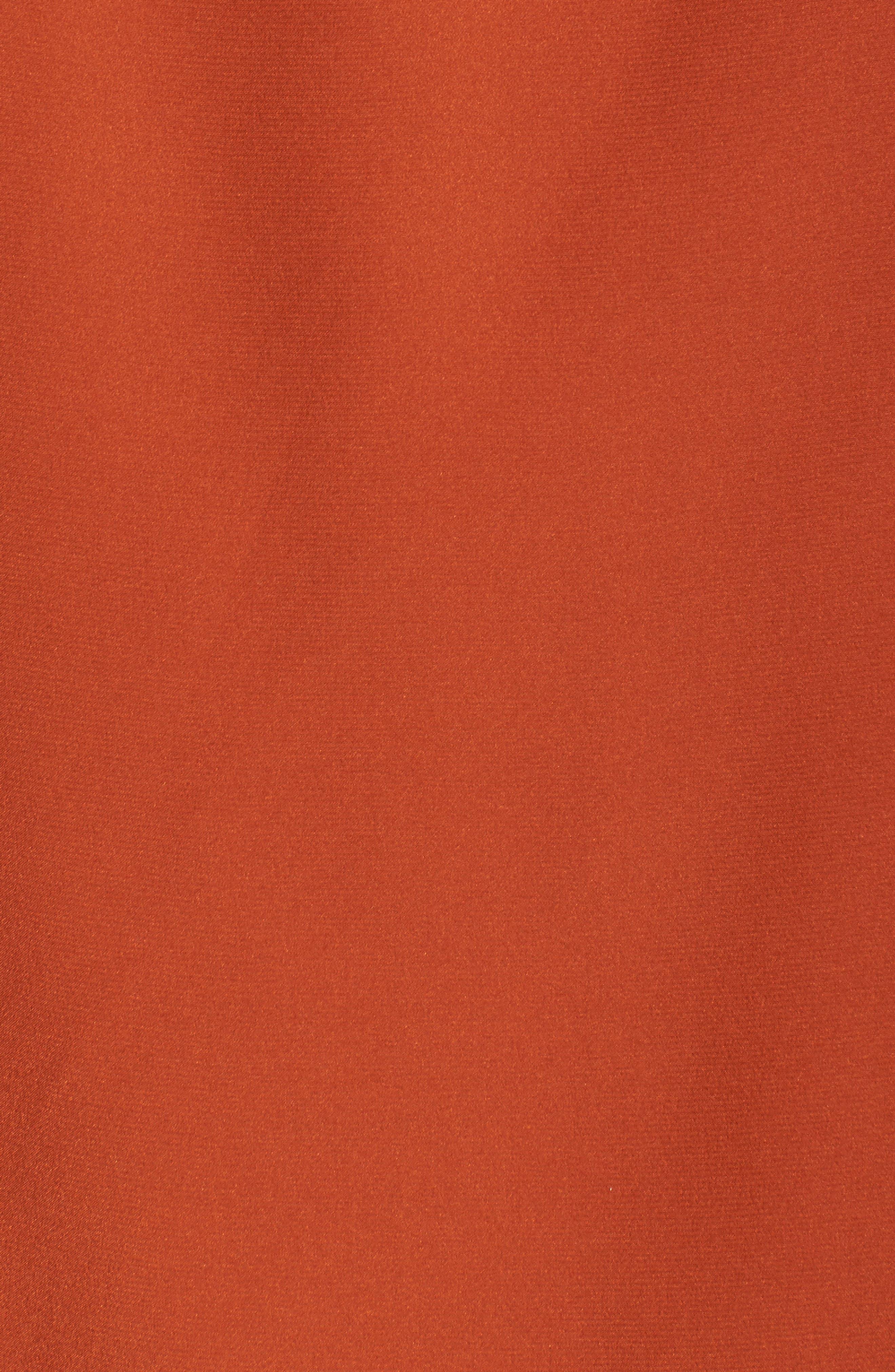 Lafayette Daryn V-Neck Zip Silk Blouse,                             Alternate thumbnail 5, color,                             096