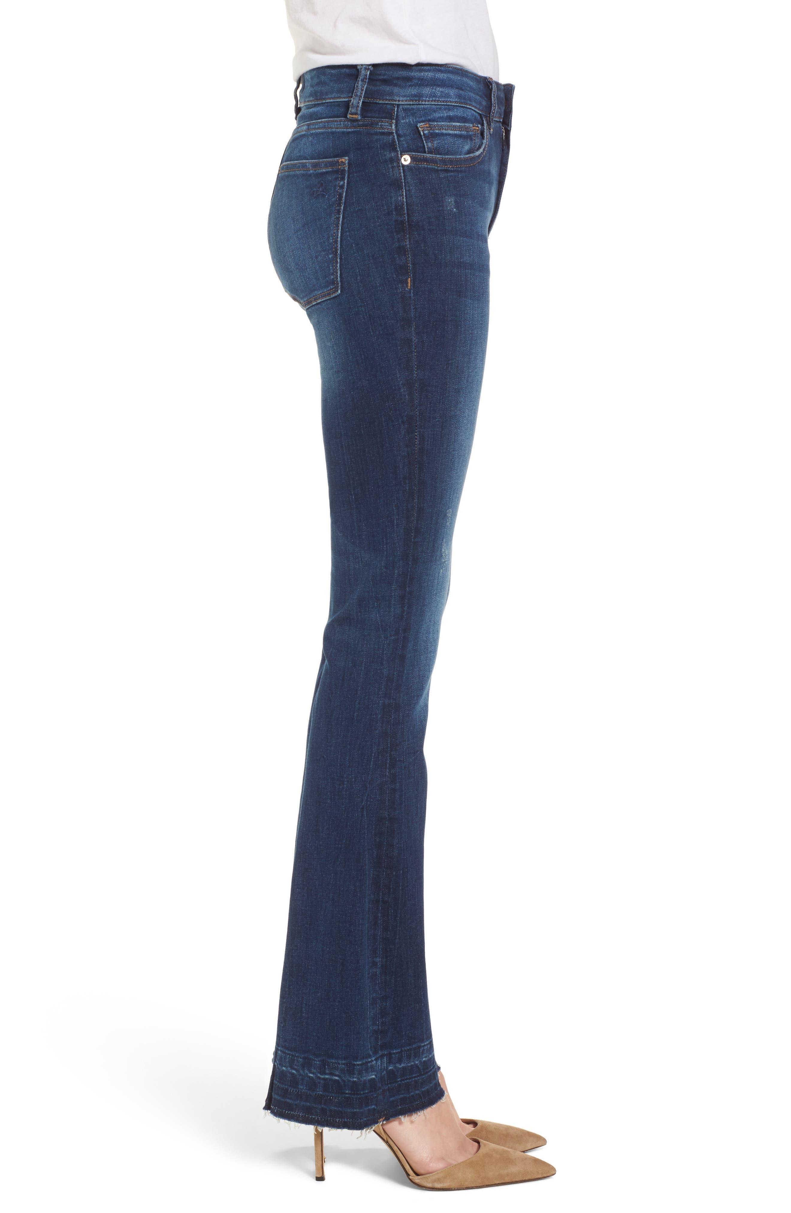 Bridget Instasculpt Bootcut Jeans,                             Alternate thumbnail 3, color,                             405