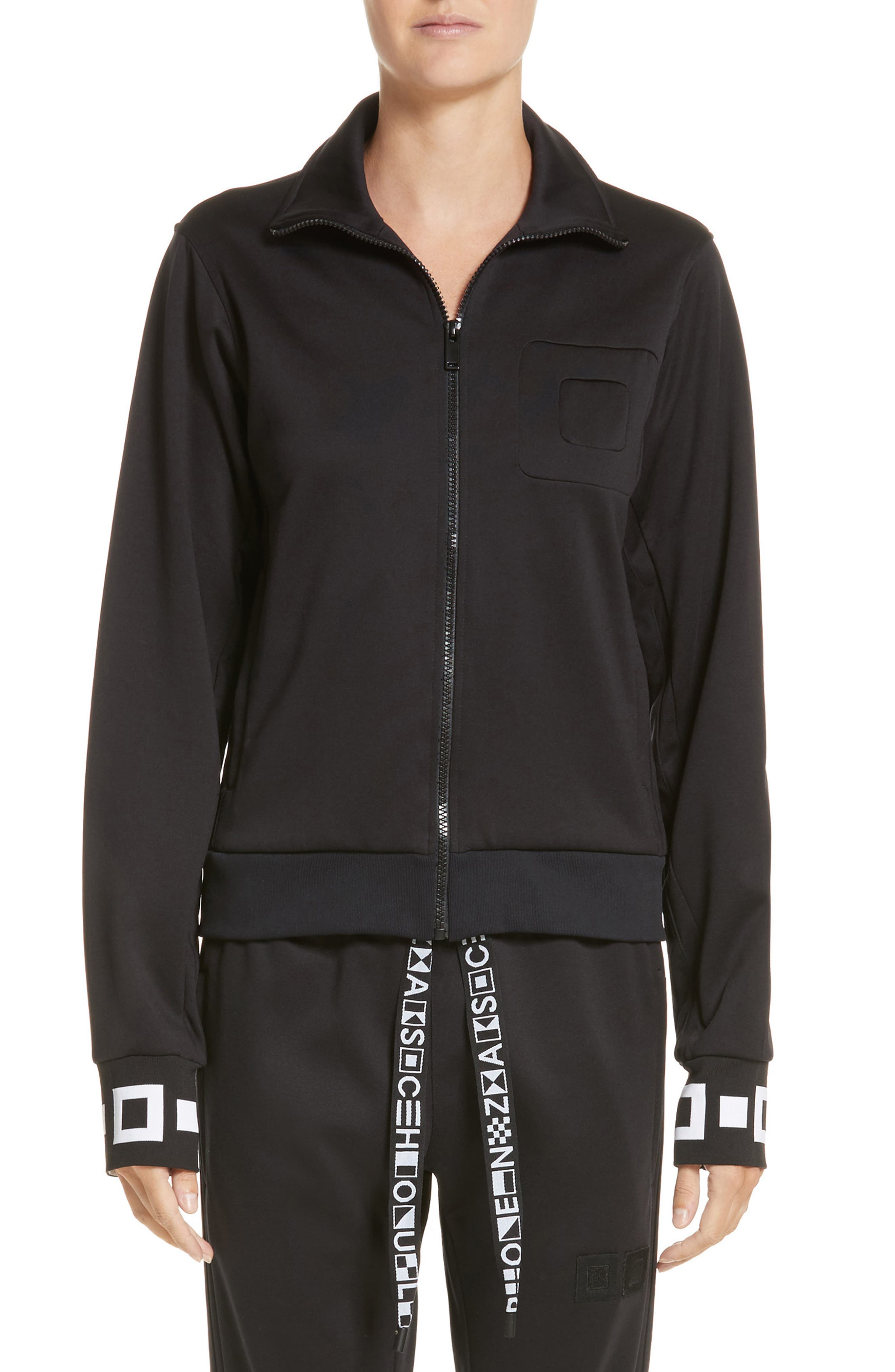 PSWL Jersey Track Jacket,                         Main,                         color, 001