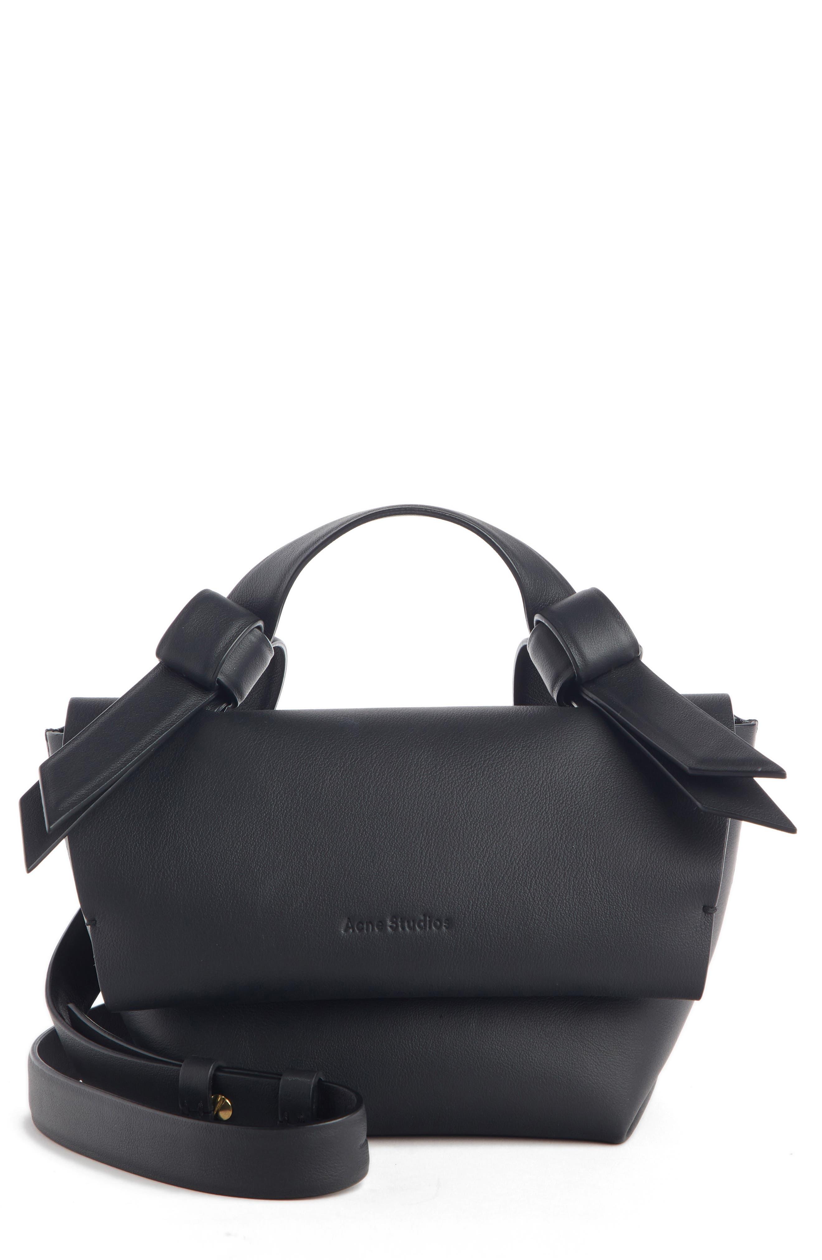 Musubi Milli Crossbody Bag, Main, color, BLACK