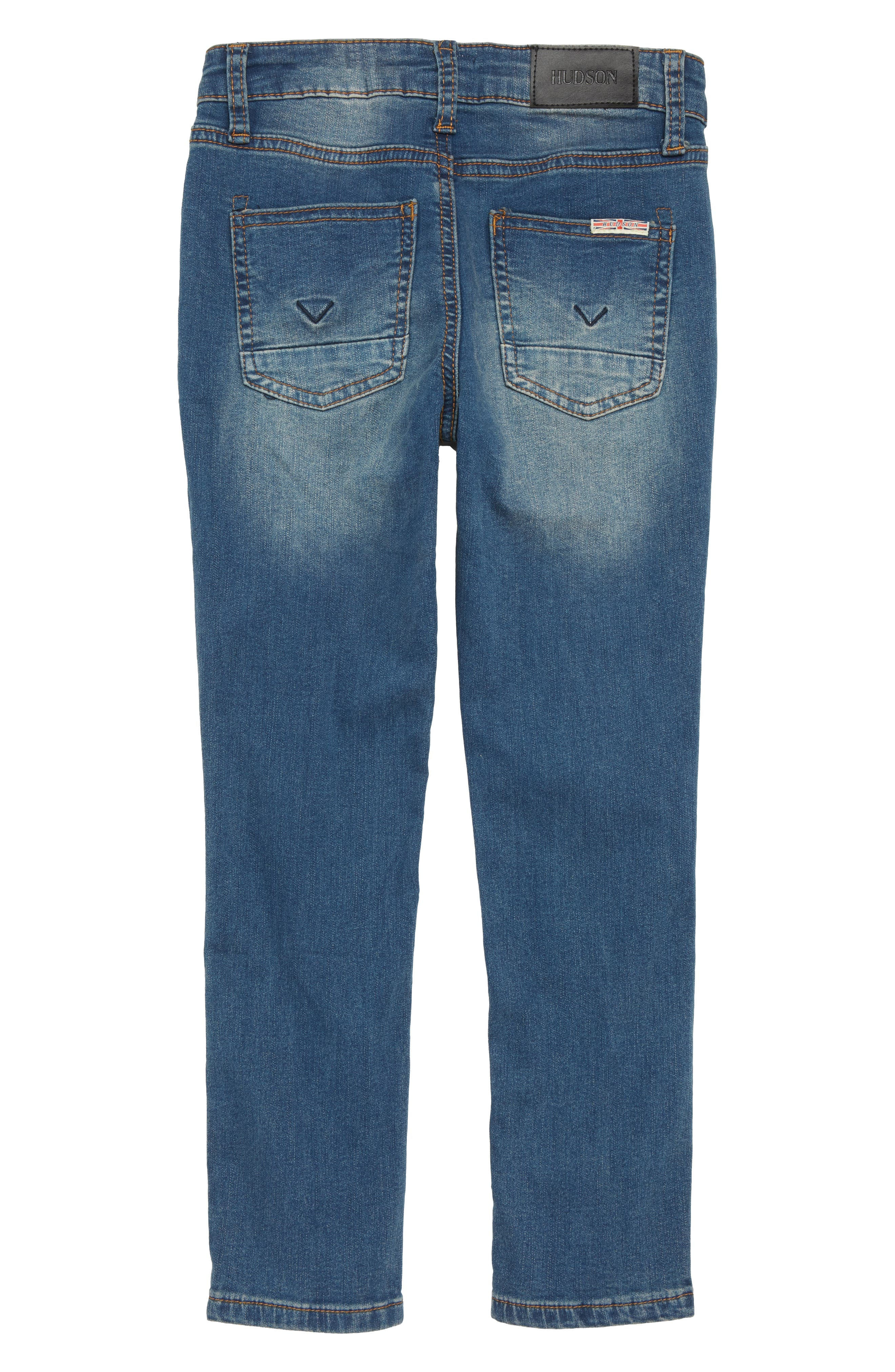HUDSON KIDS,                             Jagger Slim Fit Straight Leg Jeans,                             Alternate thumbnail 2, color,                             458