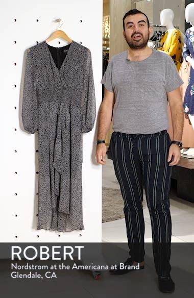 Sally Faux Chiffon Wrap Dress, sales video thumbnail