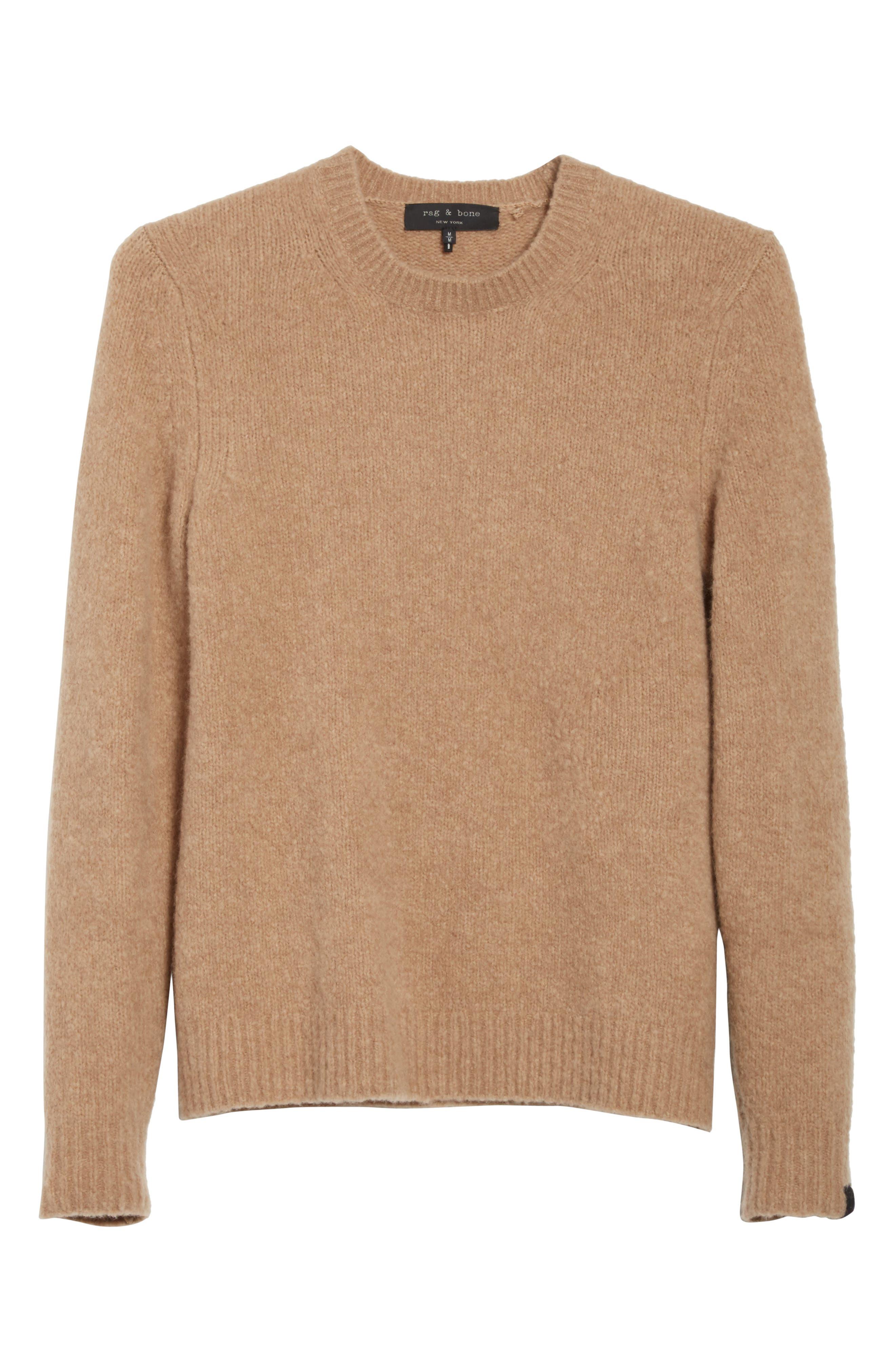 Charles Merino Wool Blend Sweater,                             Alternate thumbnail 6, color,                             230