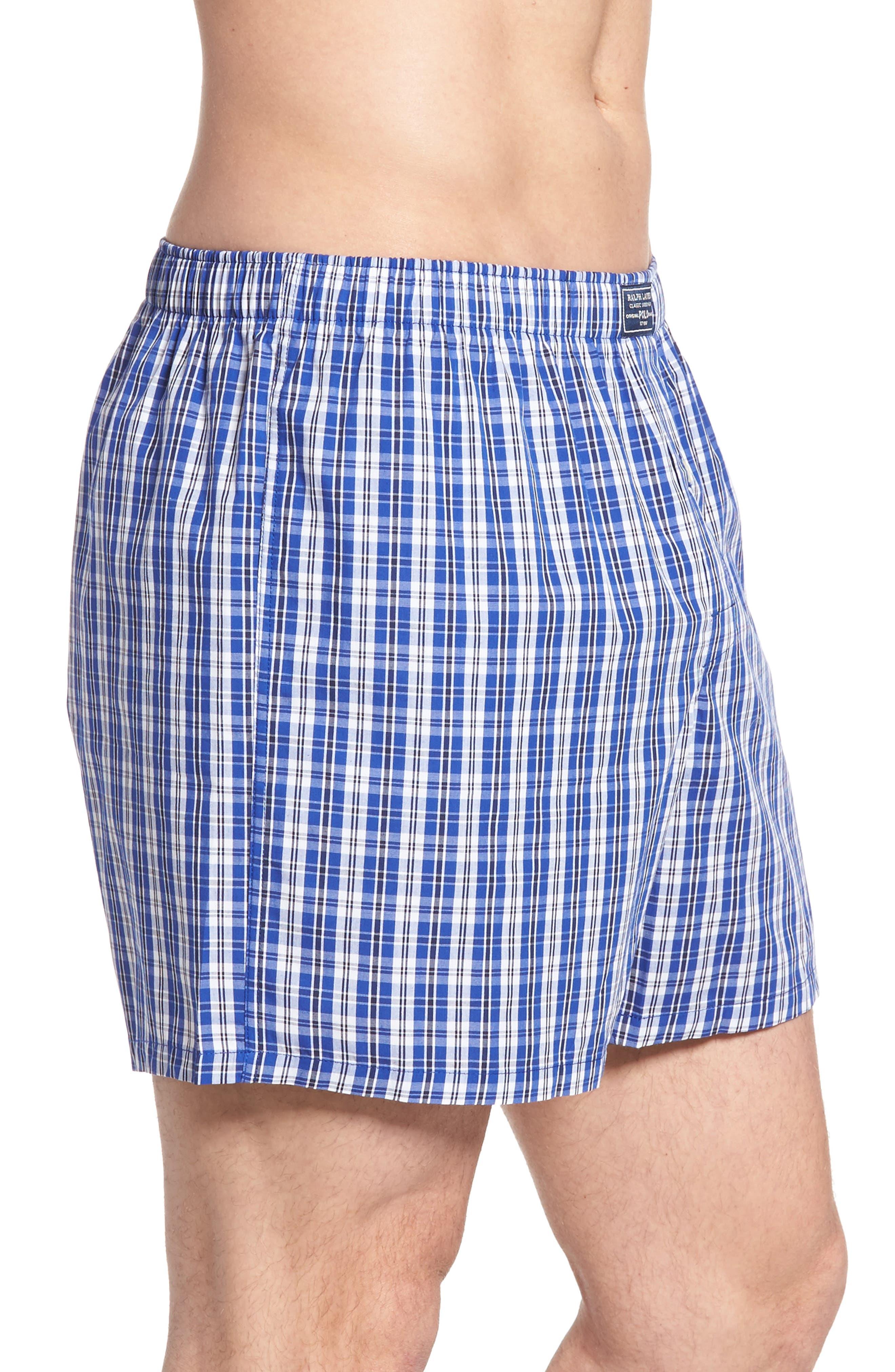 Stripe Cotton Boxers,                             Alternate thumbnail 10, color,