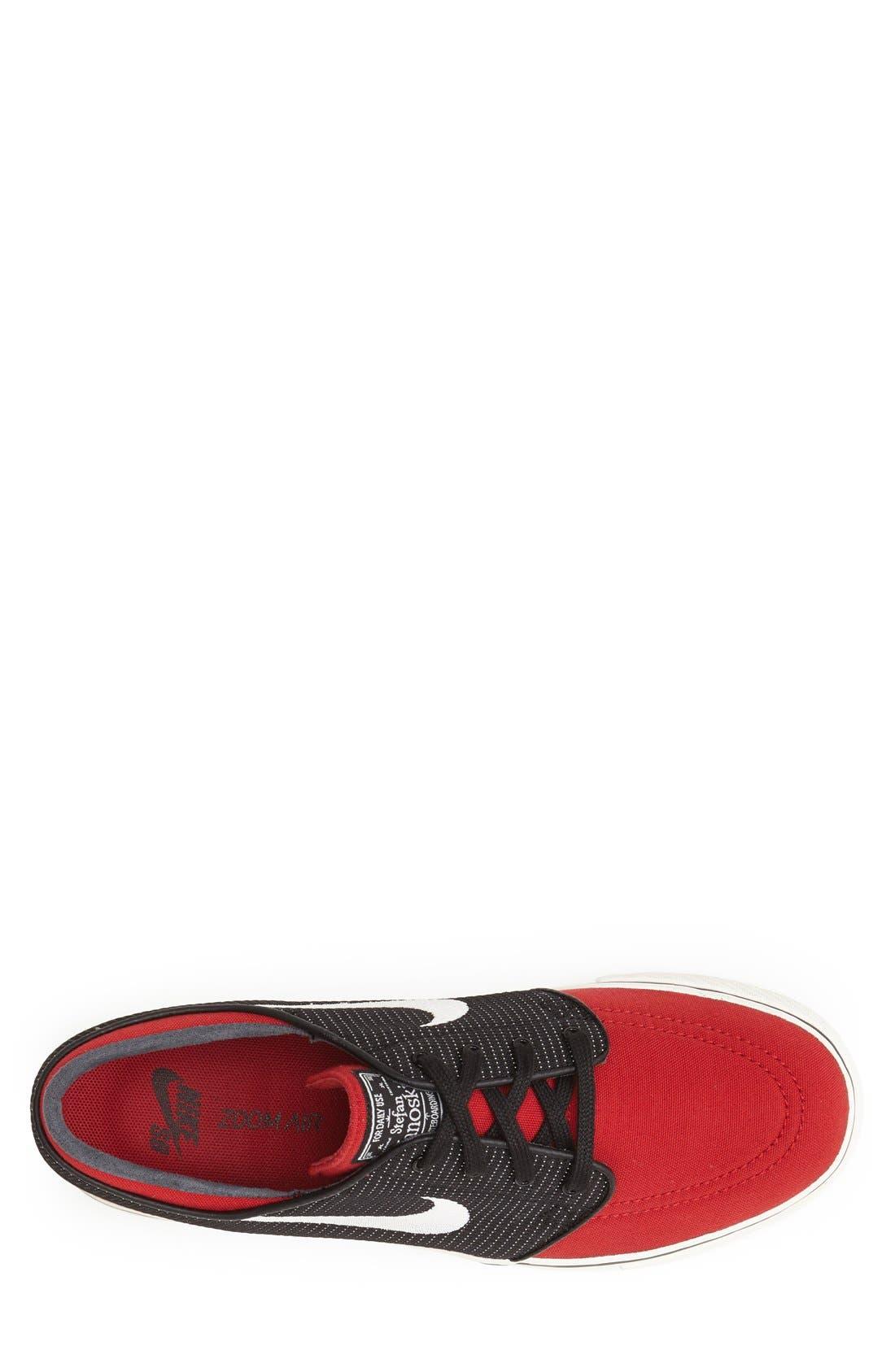 Zoom - Stefan Janoski SB Canvas Skate Shoe,                             Alternate thumbnail 126, color,