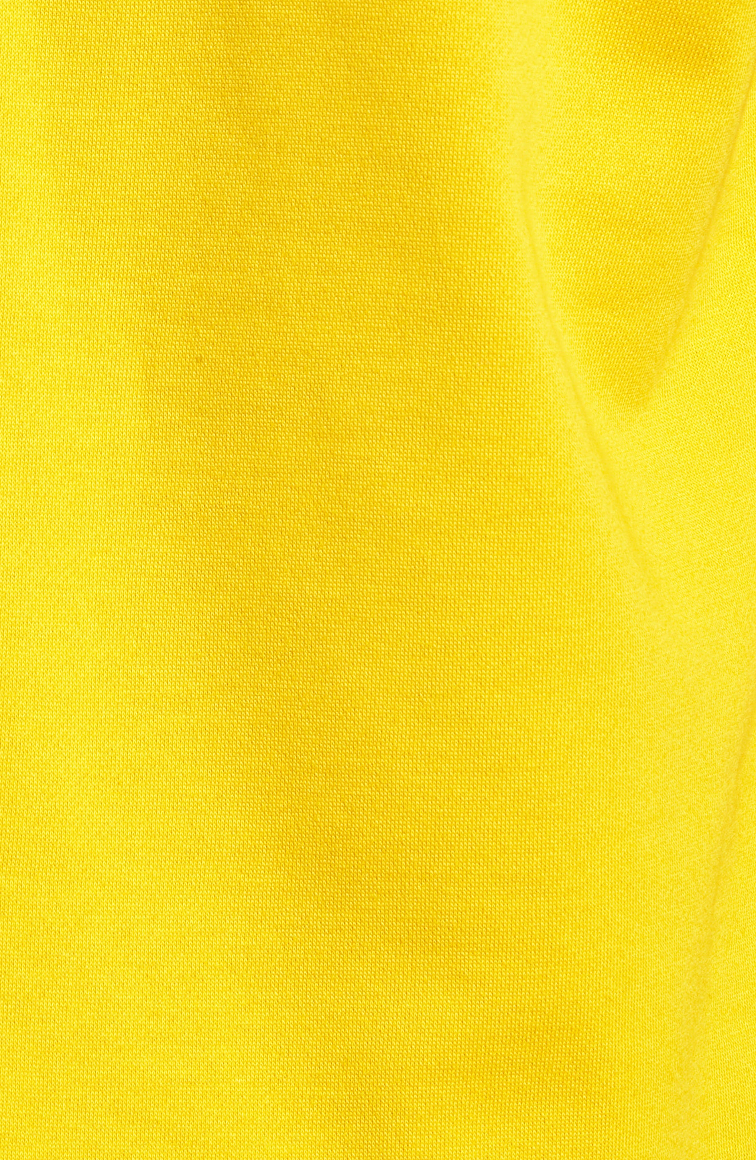Loma Sweatshirt,                             Alternate thumbnail 5, color,                             MUSTARD YELLOW