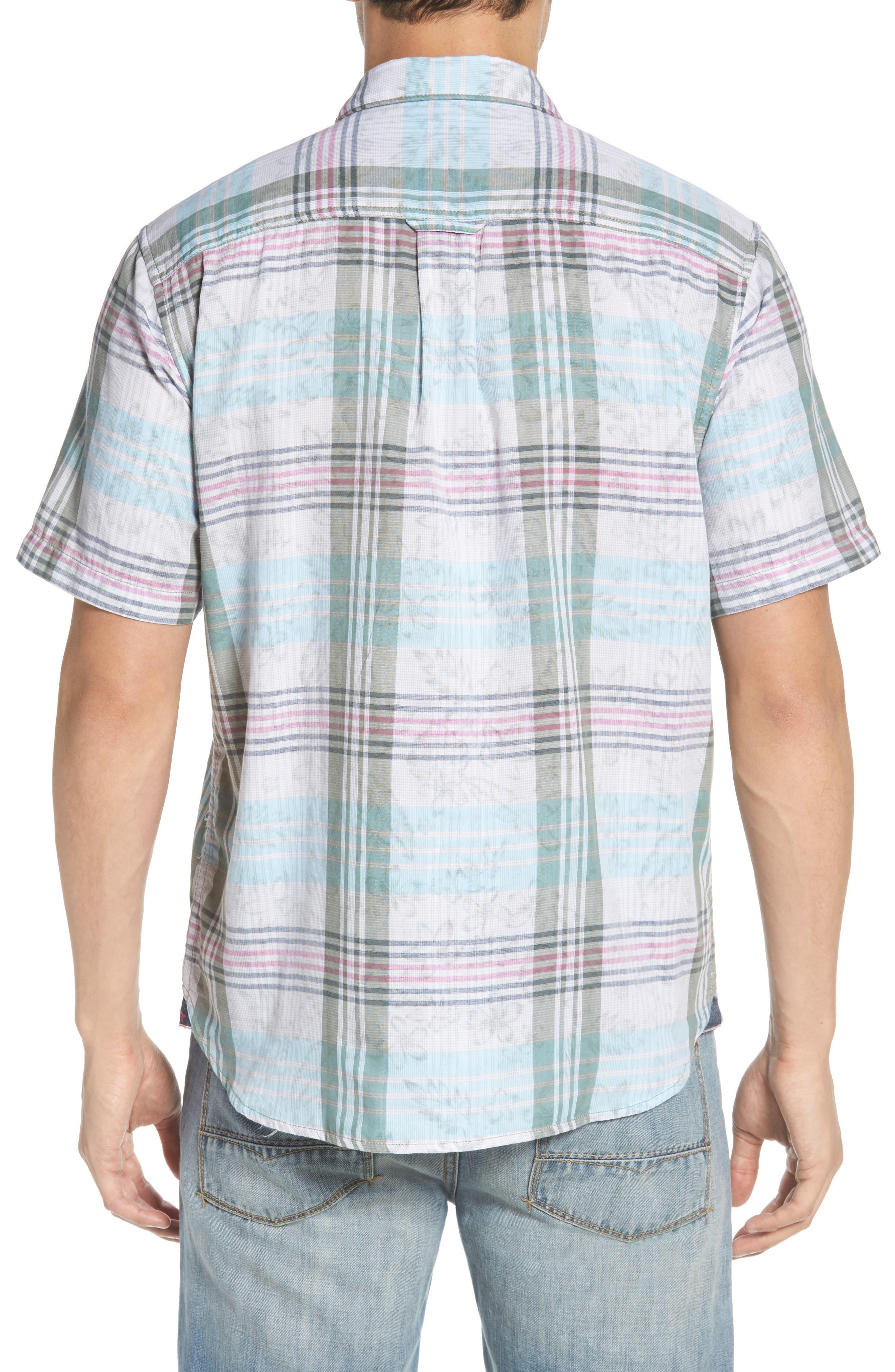 Zuma Plaid Sport Shirt,                             Alternate thumbnail 2, color,                             300