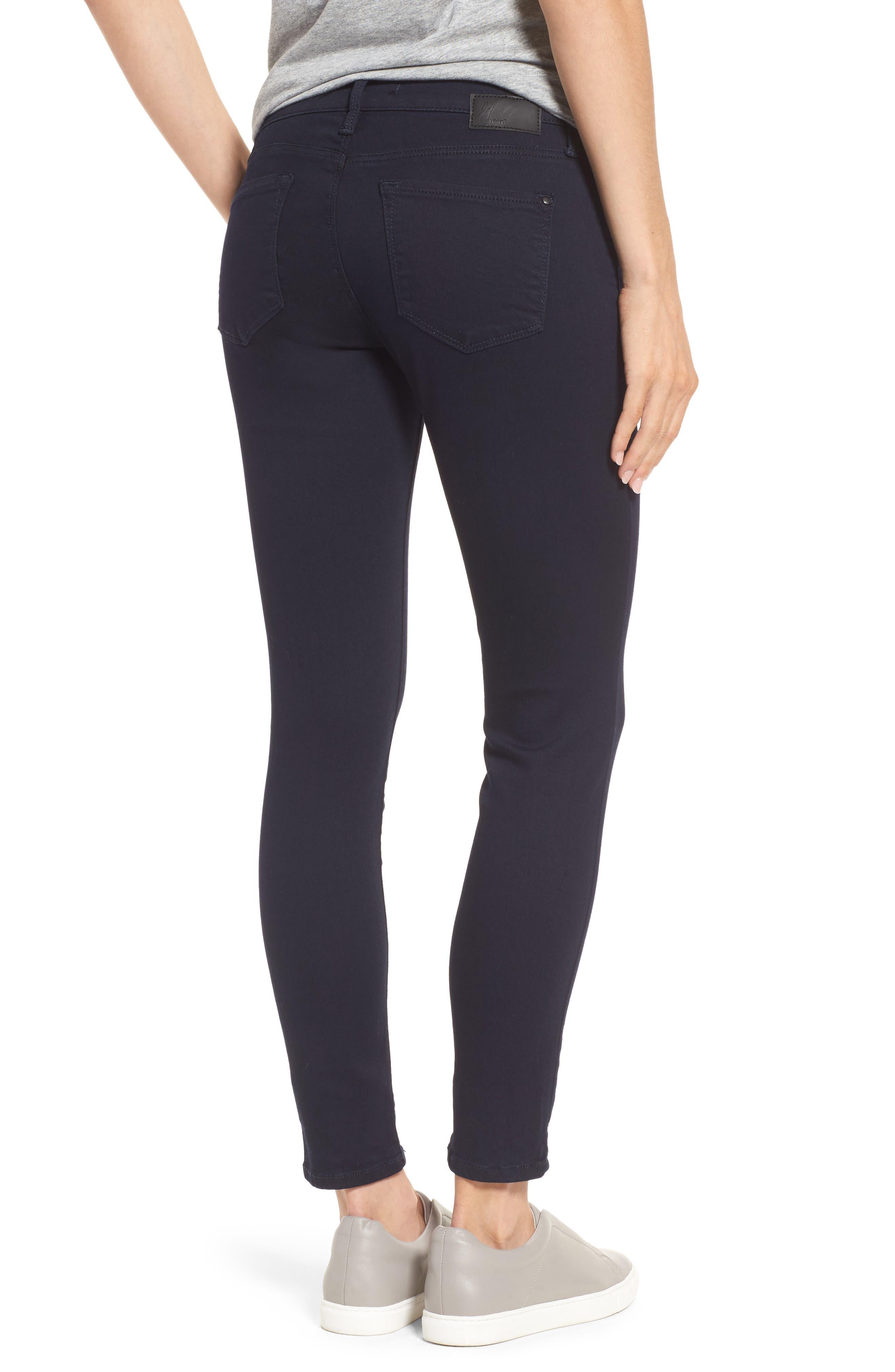 'Alexa' Midrise Skinny Jeans,                             Alternate thumbnail 2, color,                             401