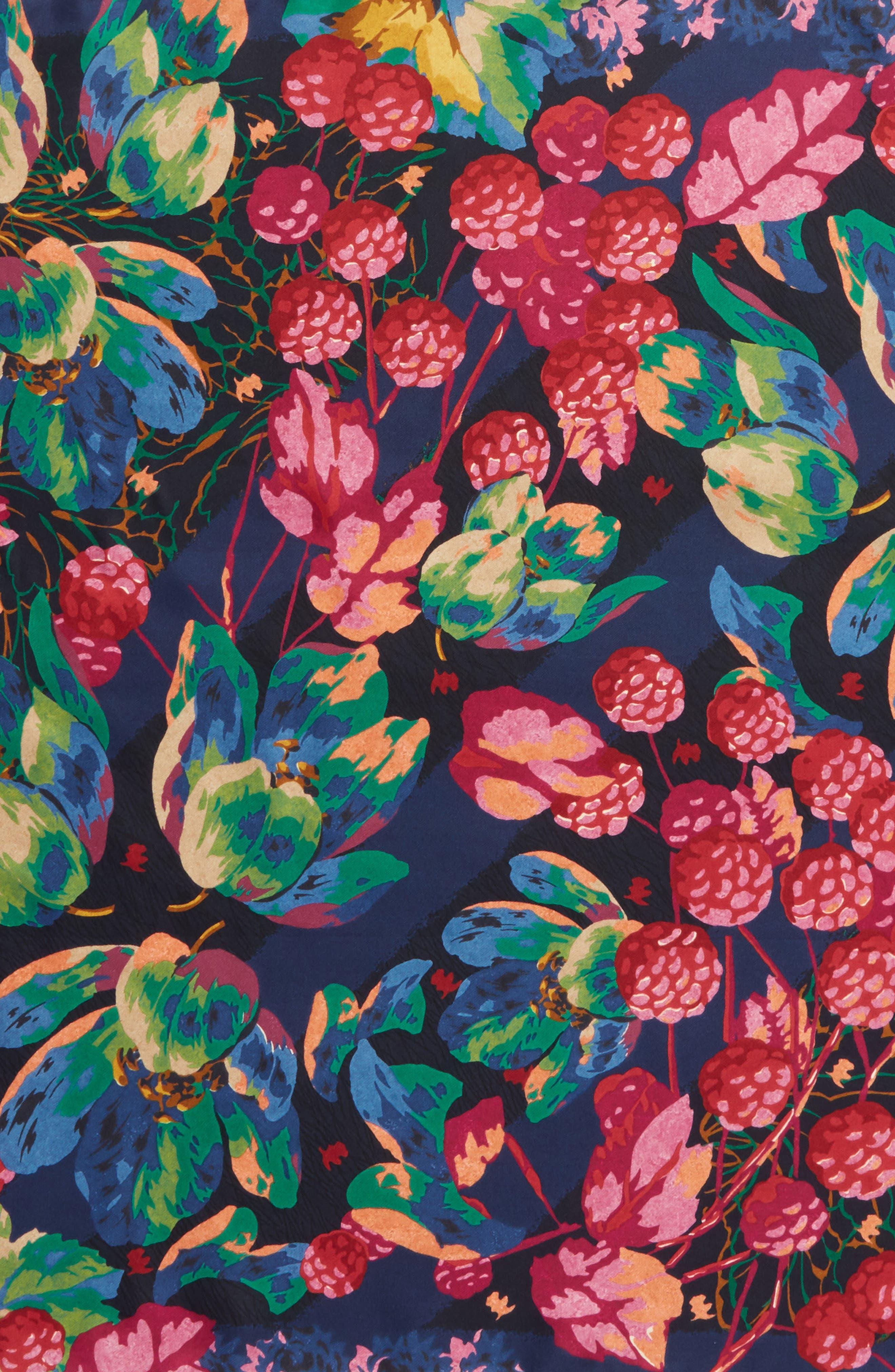 Confettura Square Silk Scarf,                             Alternate thumbnail 4, color,                             400