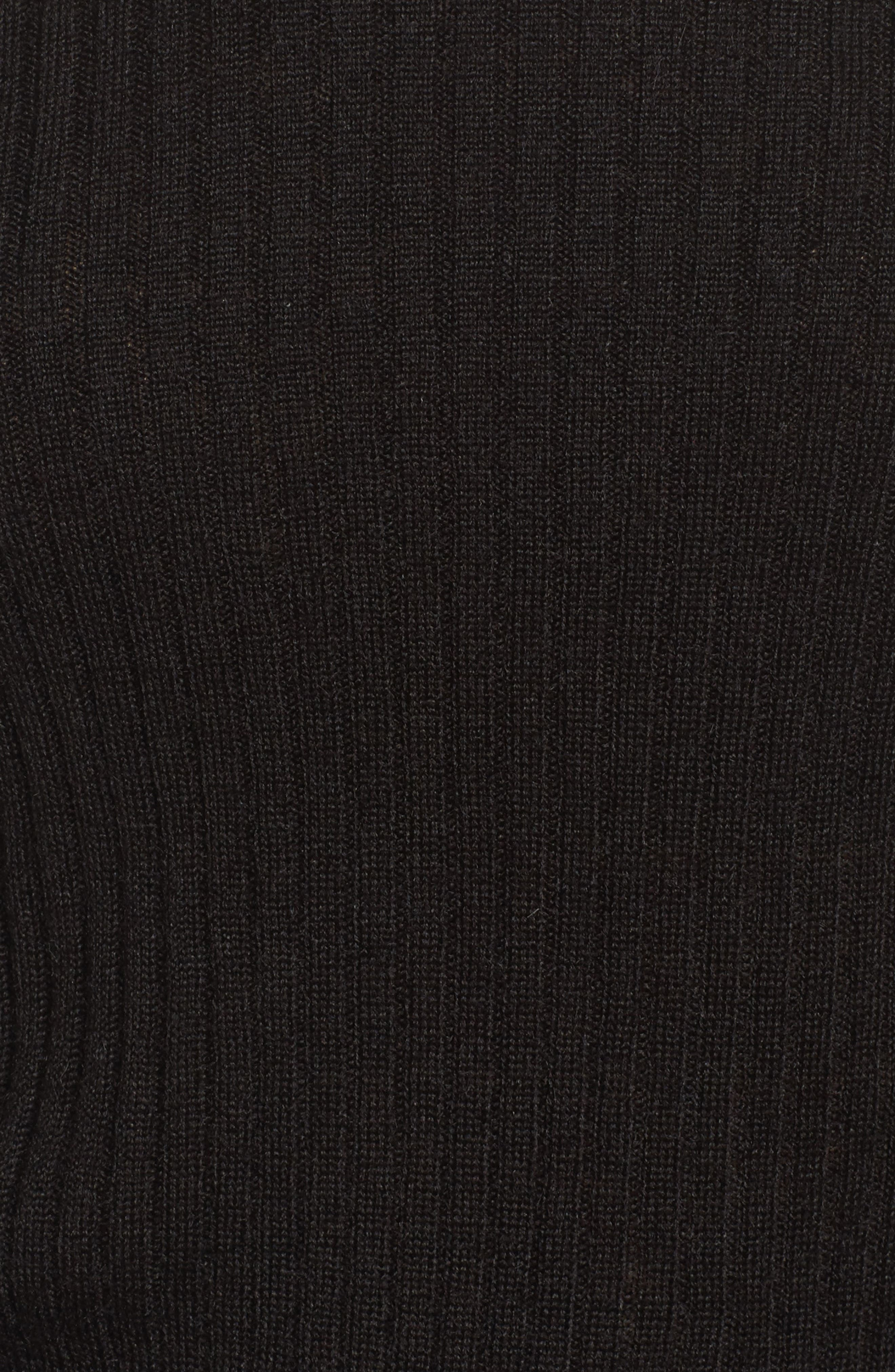 Tiara Bell Sleeve Sweater,                             Alternate thumbnail 5, color,                             001