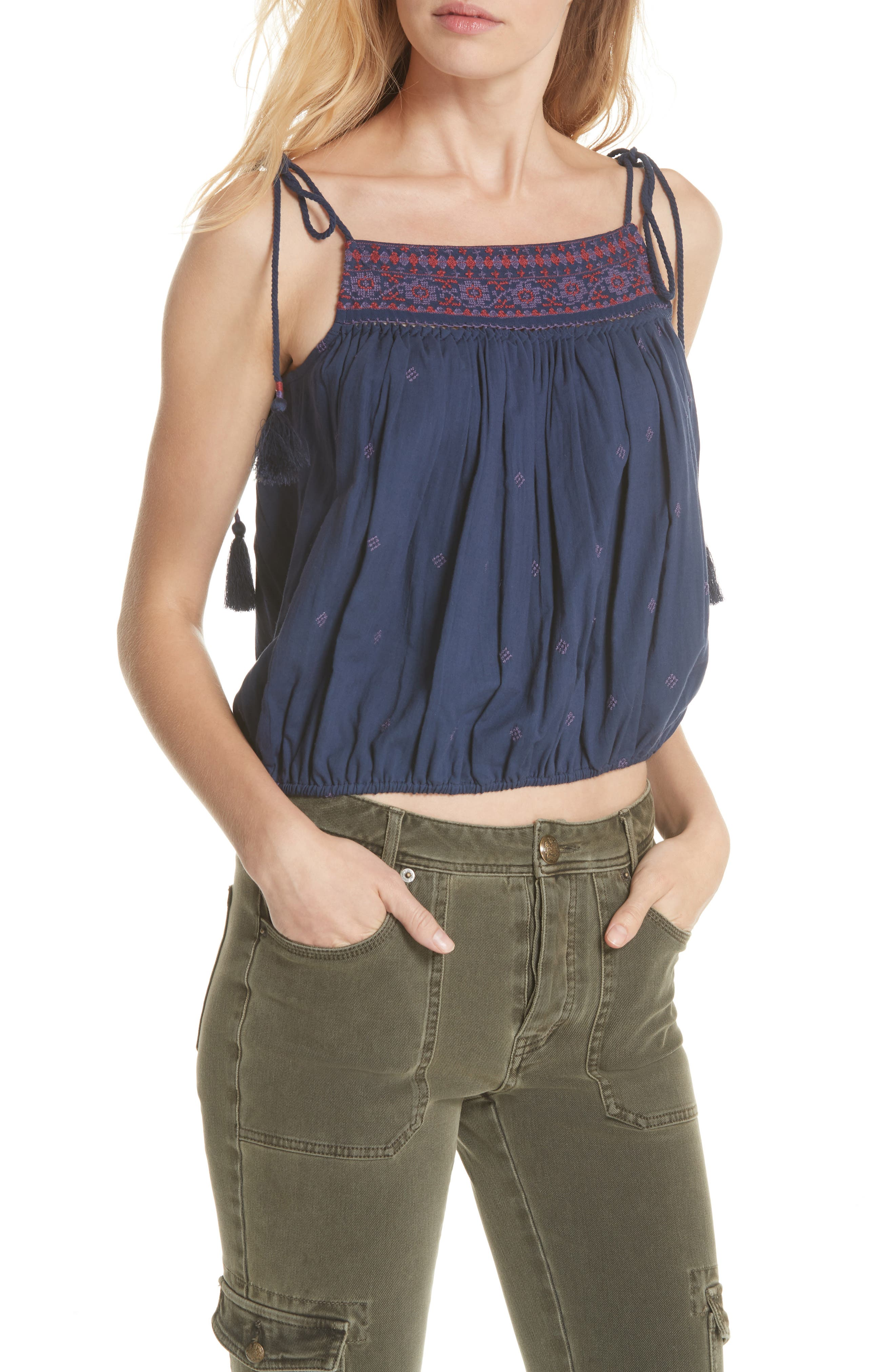 Eternal Love Embroidered Top,                         Main,                         color, 400