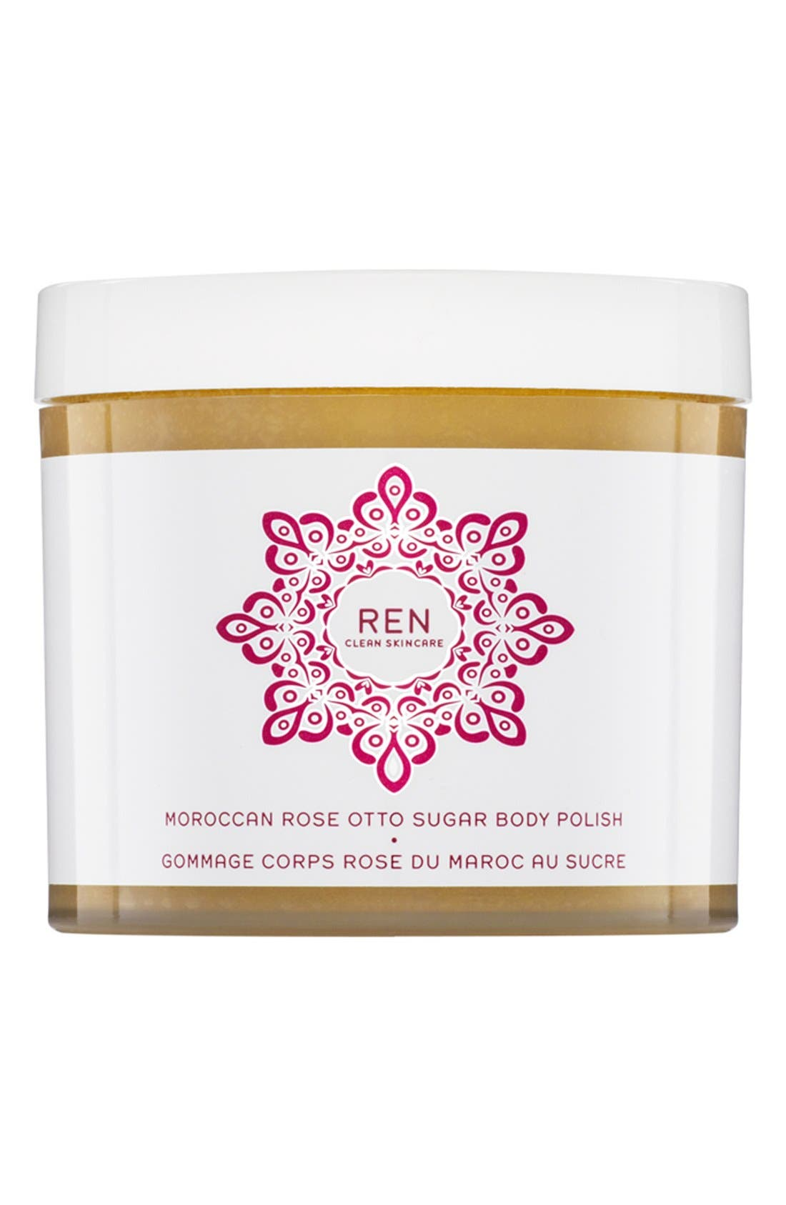 SPACE.NK.apothecary REN Moroccan Rose Otto Sugar Body Polish,                             Main thumbnail 1, color,                             NO COLOR