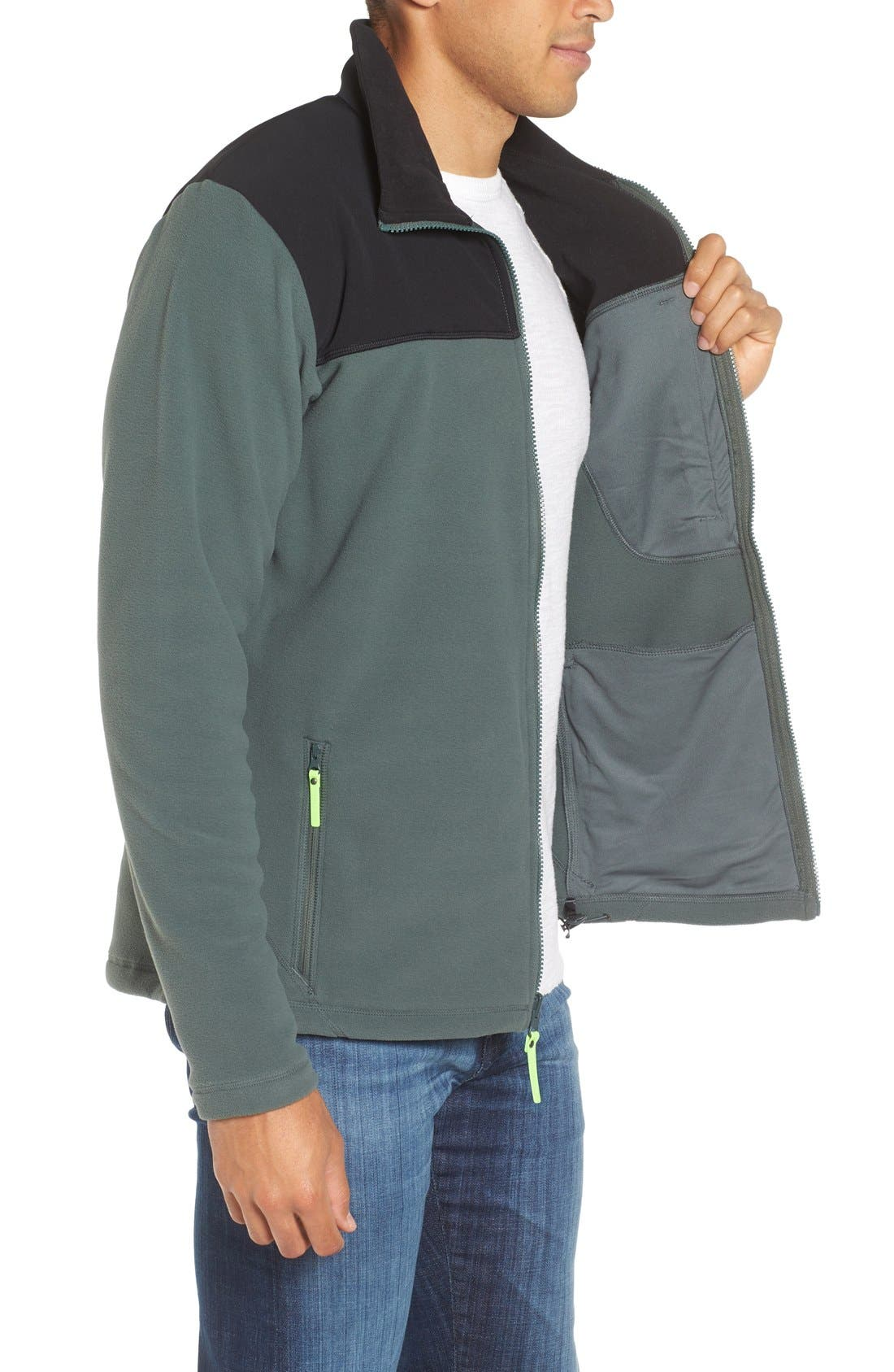 Sitka Fleece Jacket,                             Alternate thumbnail 8, color,