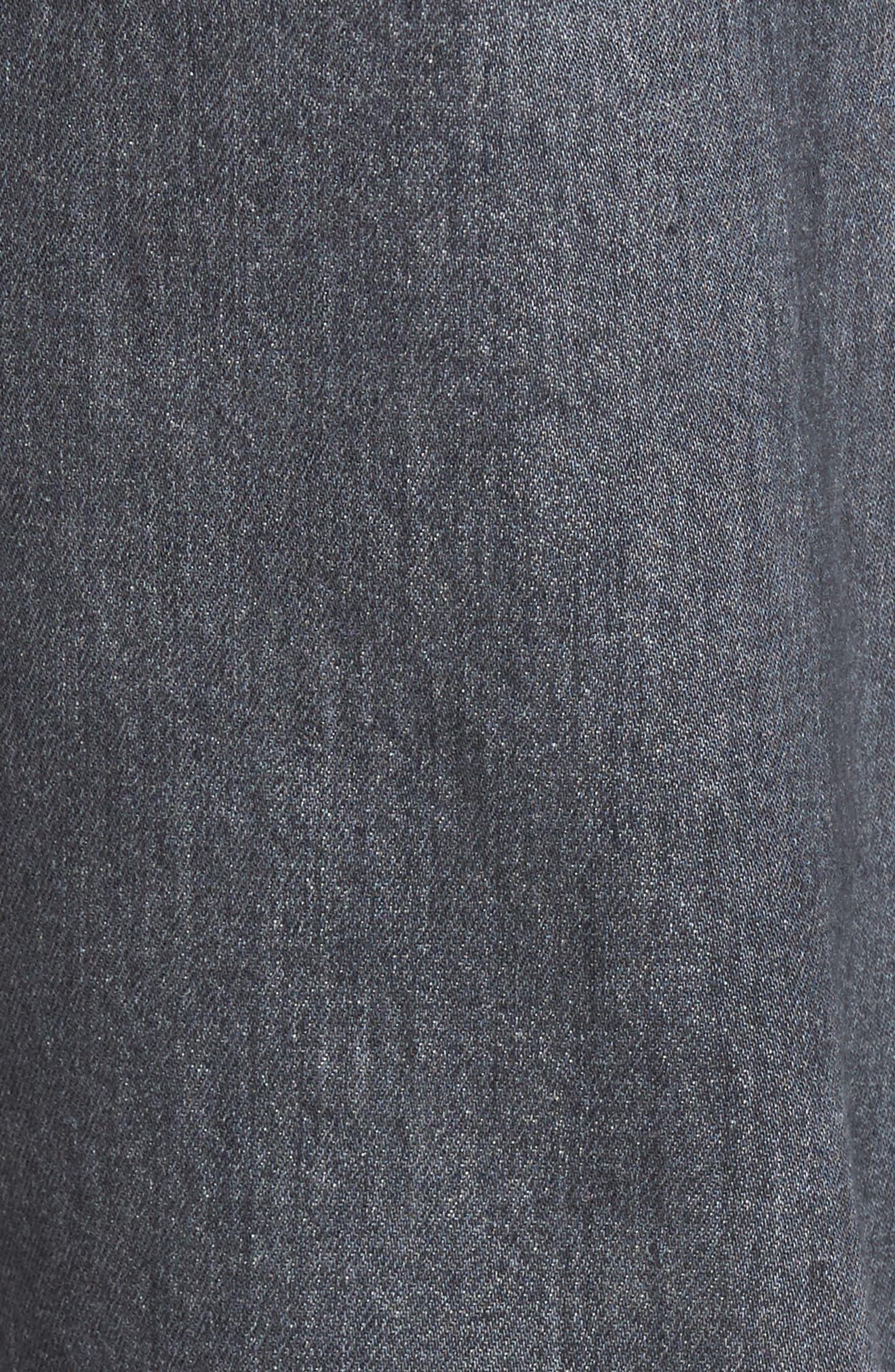 Everett Slim Straight Leg Jeans,                             Alternate thumbnail 5, color,                             023