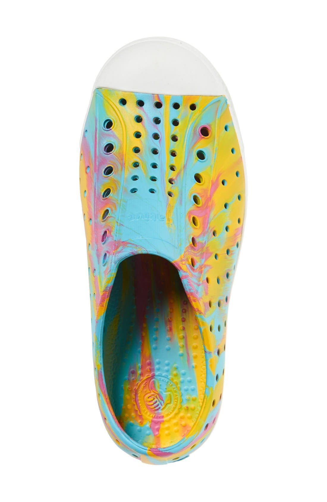 Jefferson - Marbled Perforated Slip-On,                             Alternate thumbnail 122, color,