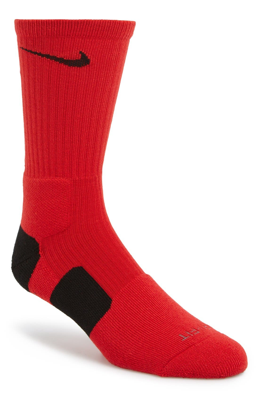 'Elite Basketball' Crew Socks,                             Main thumbnail 31, color,