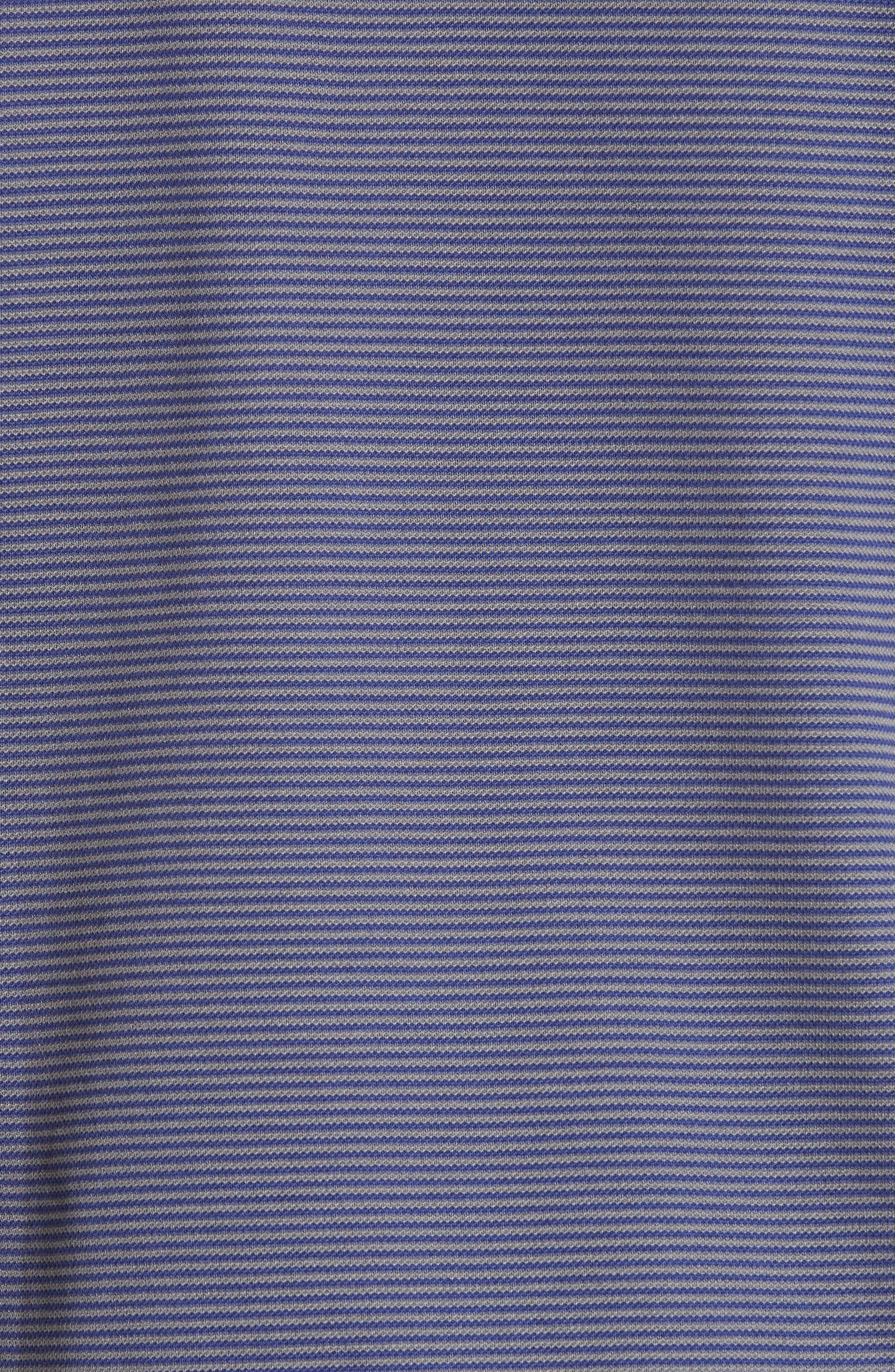 Stripe Polo,                             Alternate thumbnail 5, color,                             BLUE MULTI