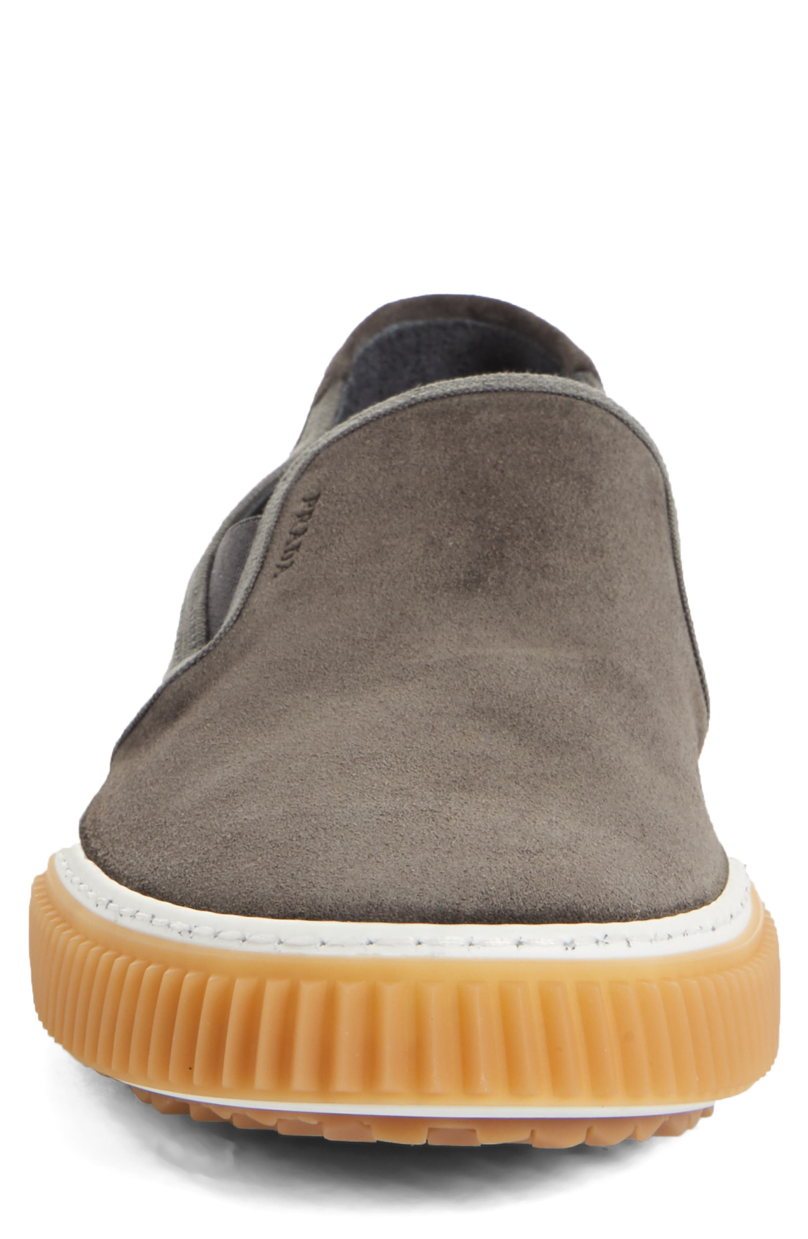 Linea Rossa Slip-On,                             Alternate thumbnail 4, color,                             GREY